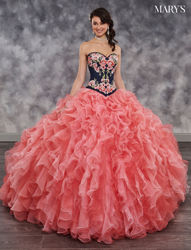 Color Quinceanera Couture Dresses - Style - MQ3015