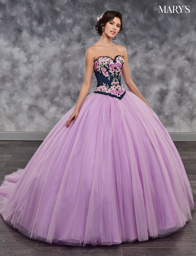 Grape - quince Color Quinceanera Couture Dresses - Style - MQ3016