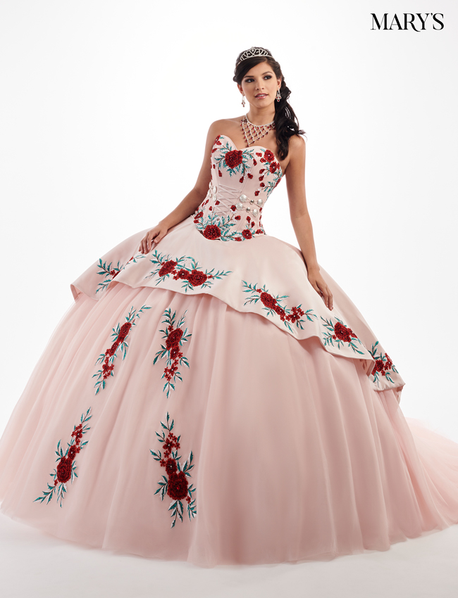 737f8084688 Blush Color Quinceanera Couture Dresses - Style - MQ3024