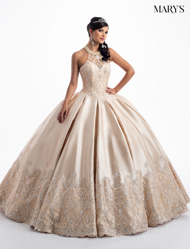 b6986a50c9f Blush Color Quinceanera Couture Dresses - Style - MQ3027