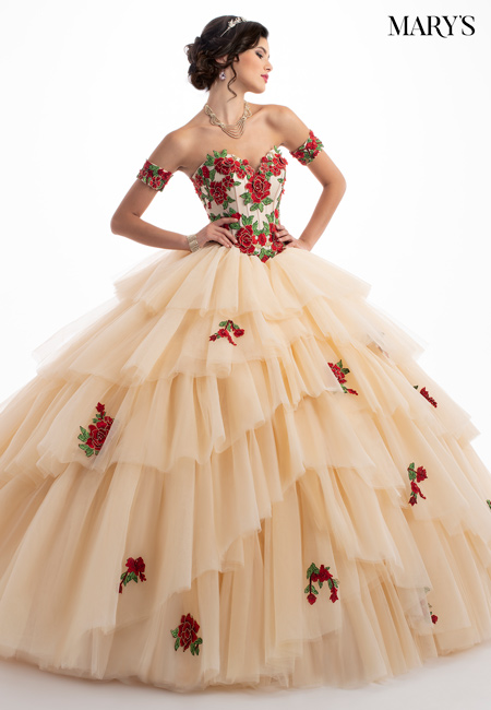 Color Quinceanera Couture Dresses - Style - MQ3028