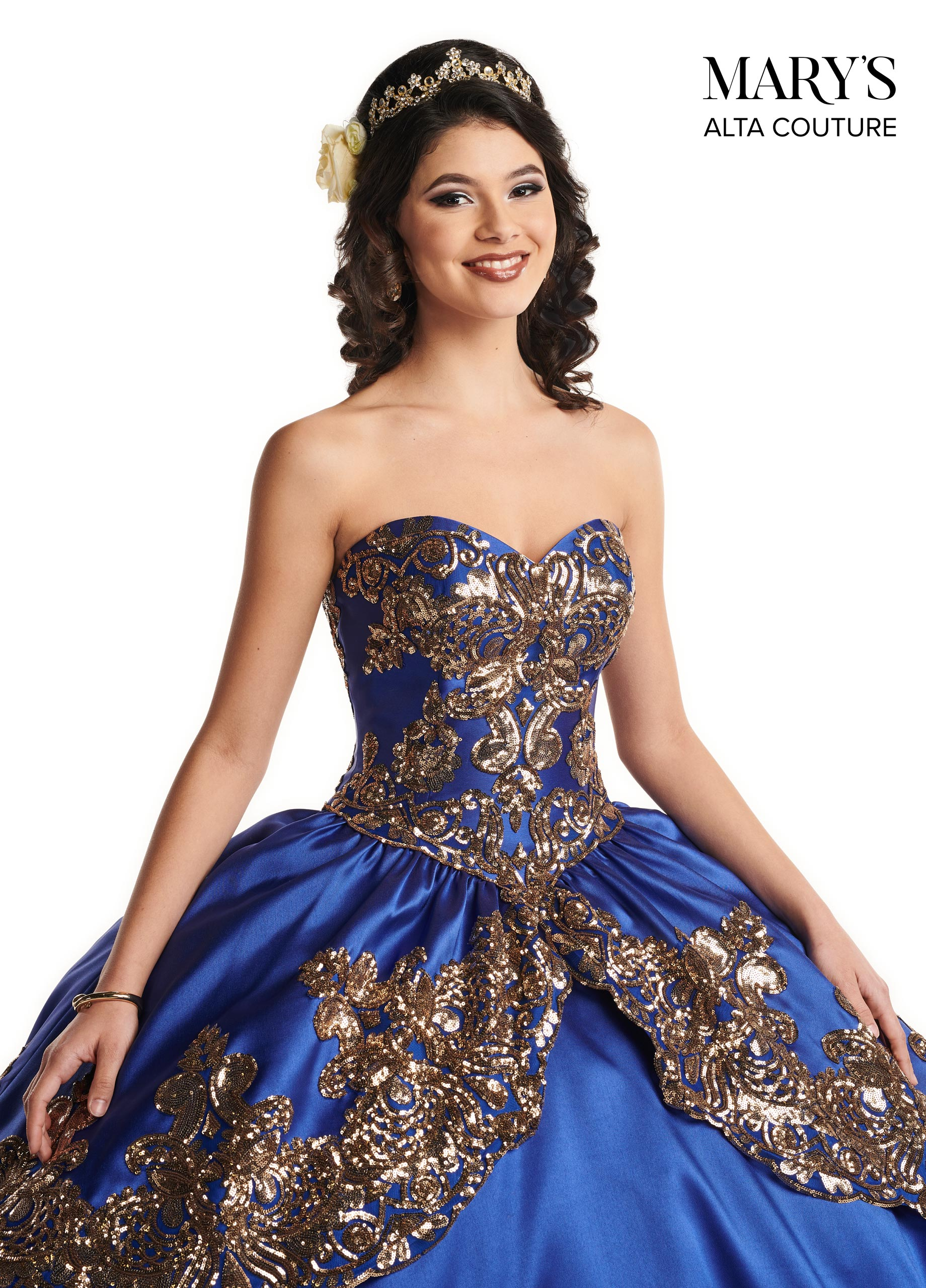 Quinceanera Couture Dresses   Alta Couture   Style - MQ3030