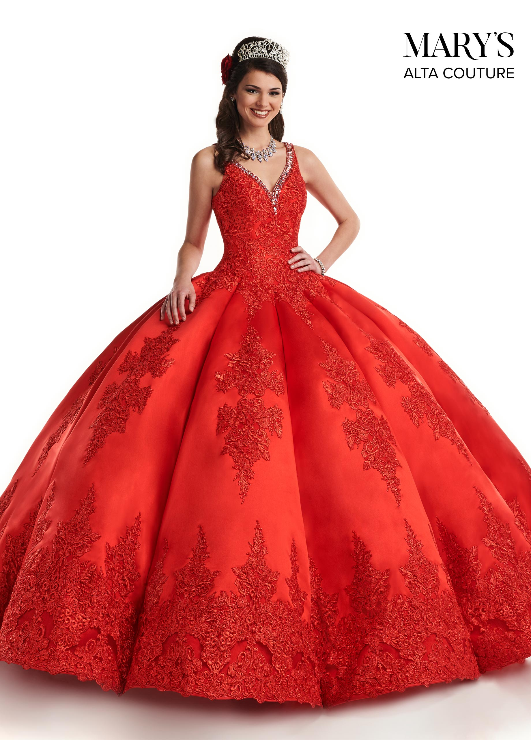 Quinceanera Couture Dresses | Alta Couture | Style - MQ3032