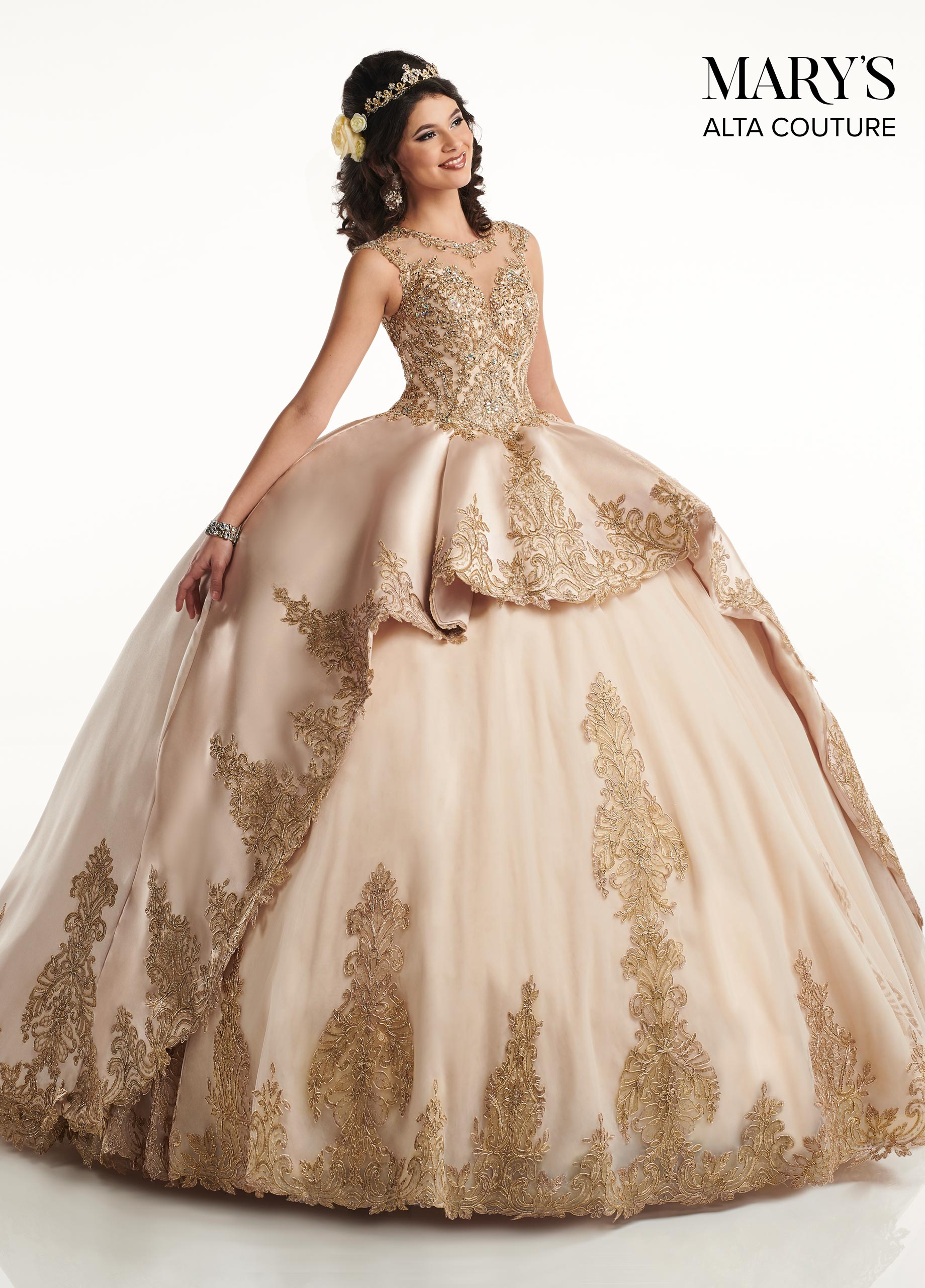 Quinceanera Couture Dresses | Alta Couture | Style - MQ3034