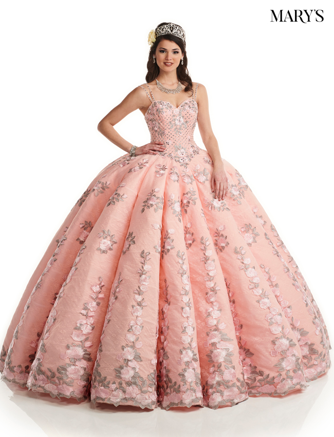 Blush Color Quinceanera Couture Dresses - Style - MQ3035