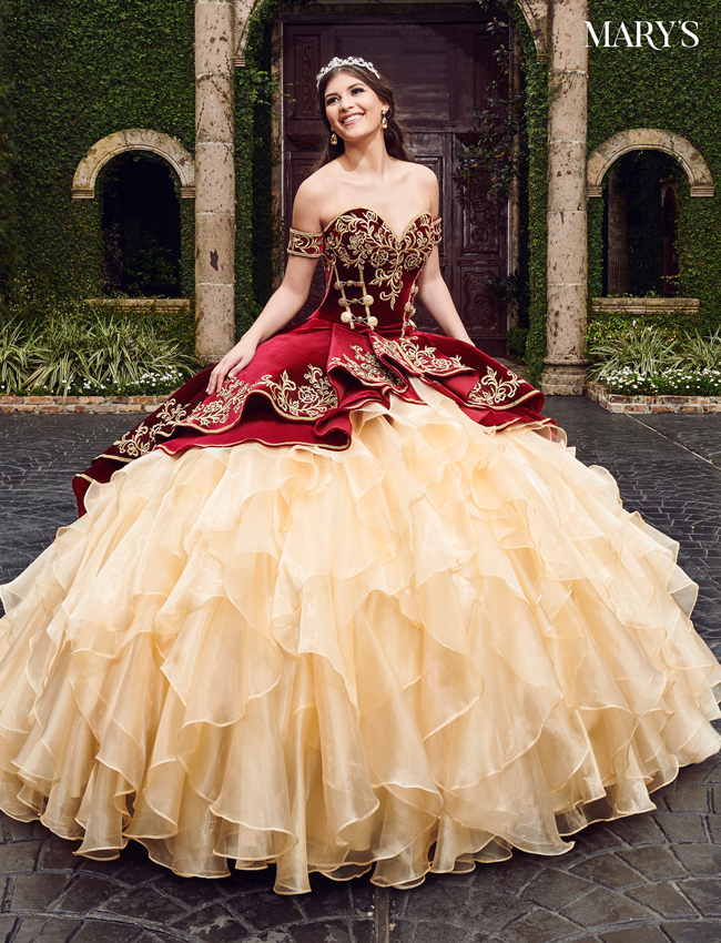 Navy Color Quinceanera Couture Dresses - Style - MQ3037