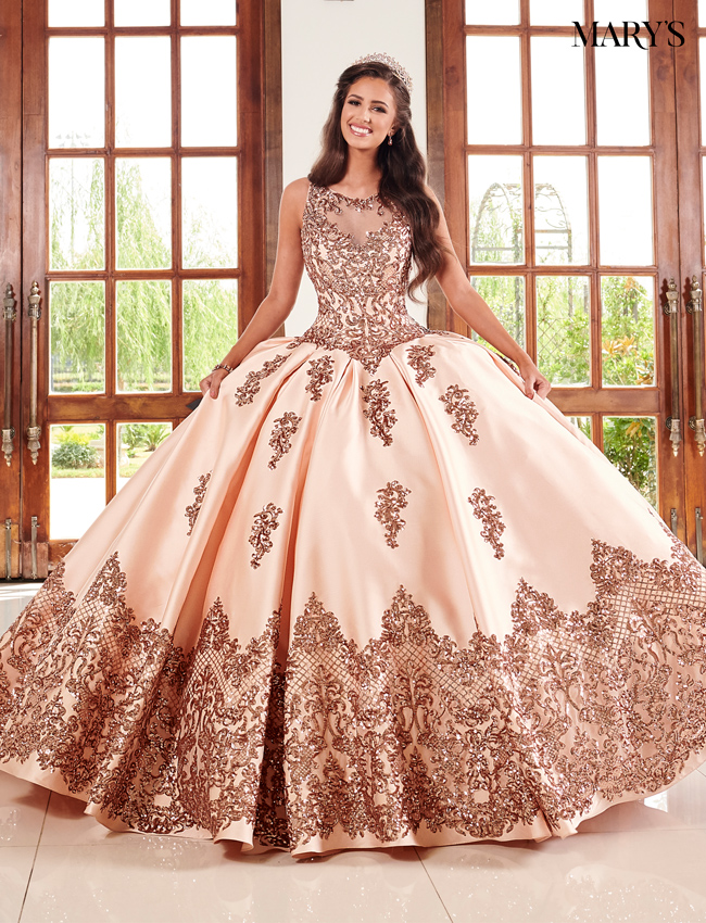 Burgundy Color Quinceanera Couture Dresses - Style - MQ3038