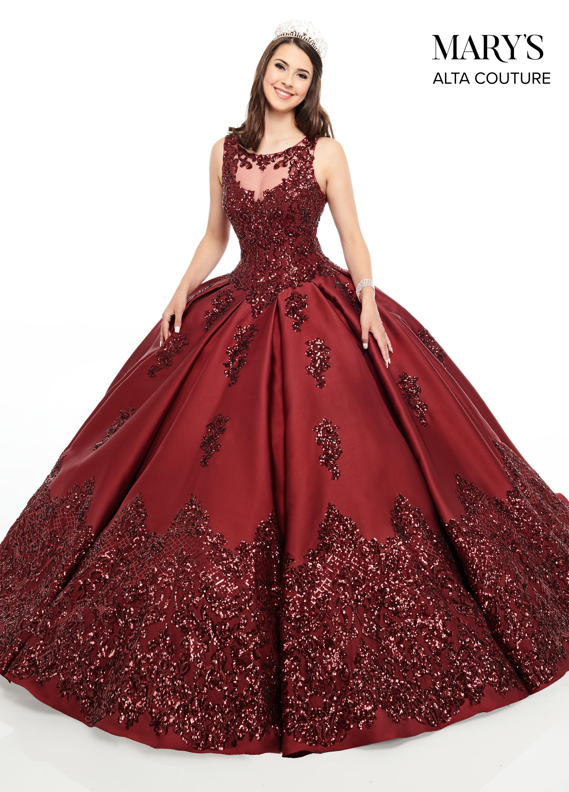 Quinceanera Couture Dresses   Alta Couture   Style - MQ3038