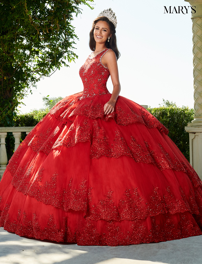 Color Quinceanera Couture Dresses - Style - MQ3039