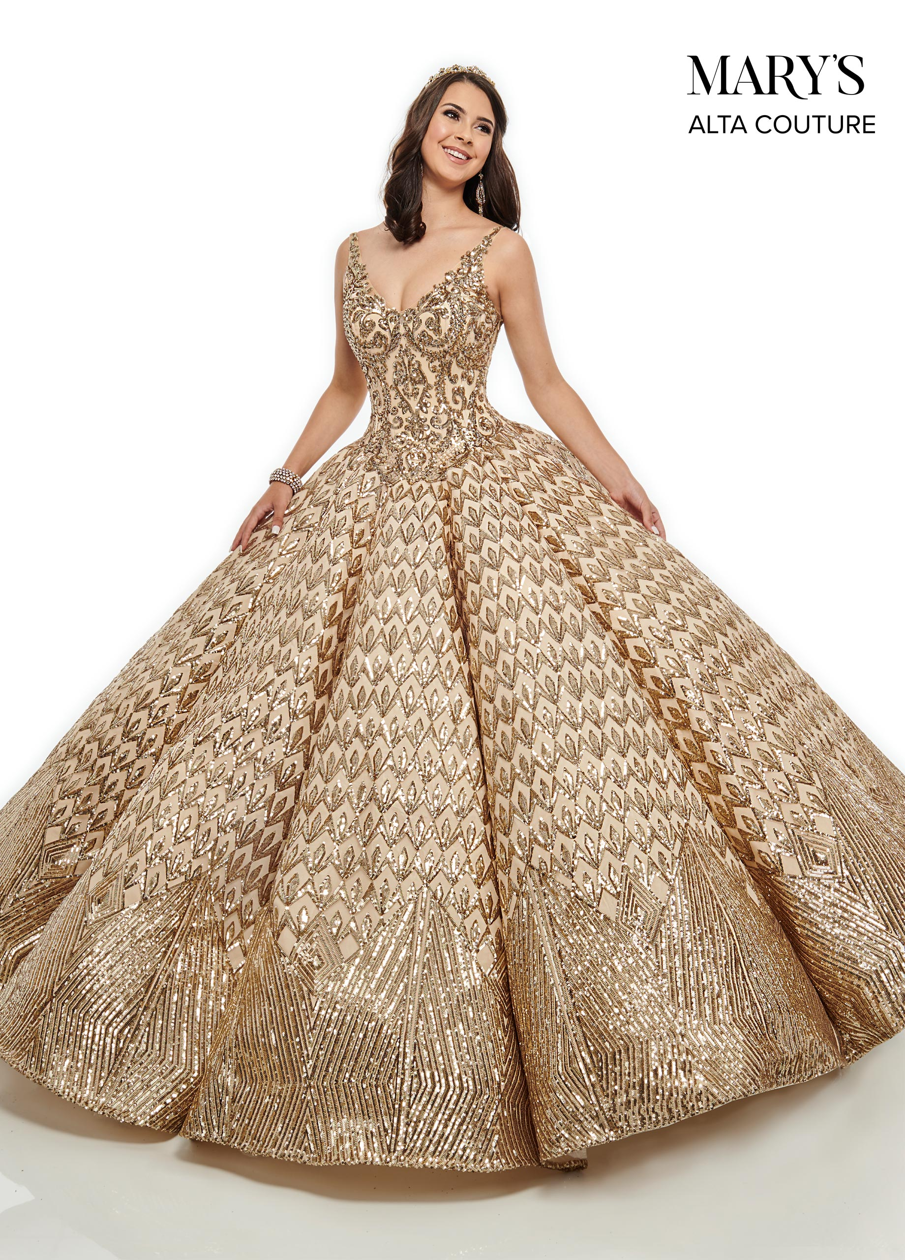 Quinceanera Couture Dresses | Alta Couture | Style - MQ3040