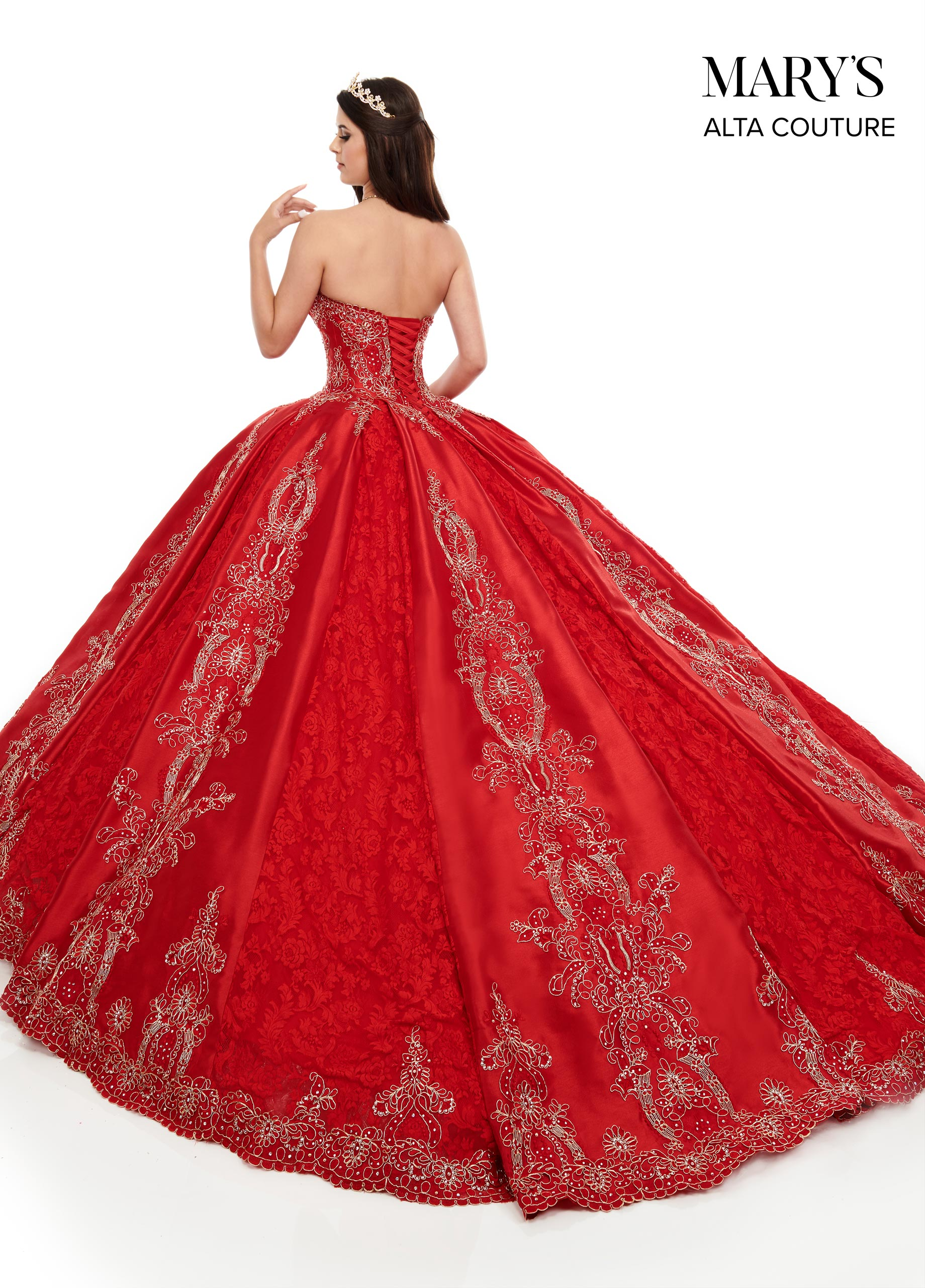 Quinceanera Couture Dresses   Alta Couture   Style - MQ3044