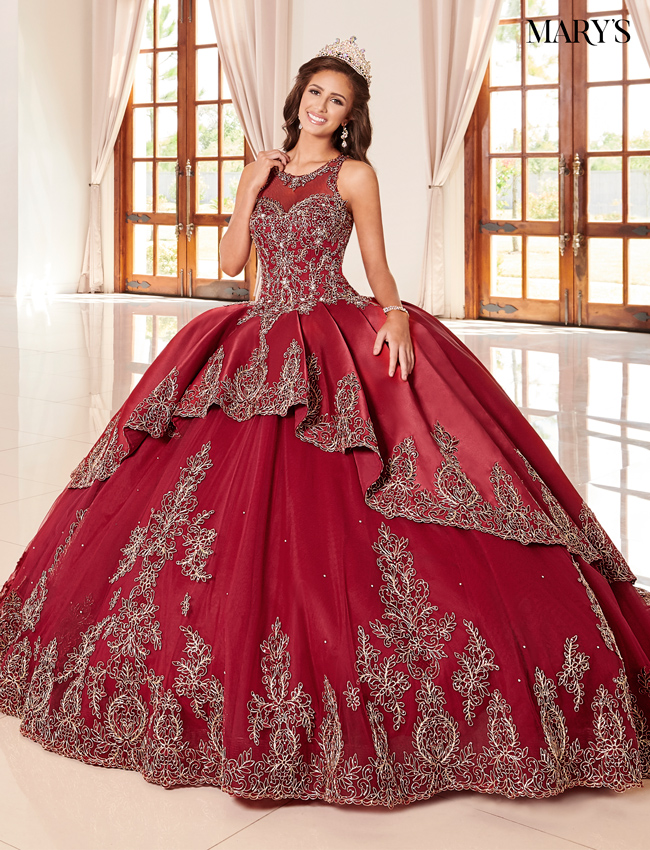 Blush Color Quinceanera Couture Dresses - Style - MQ3047