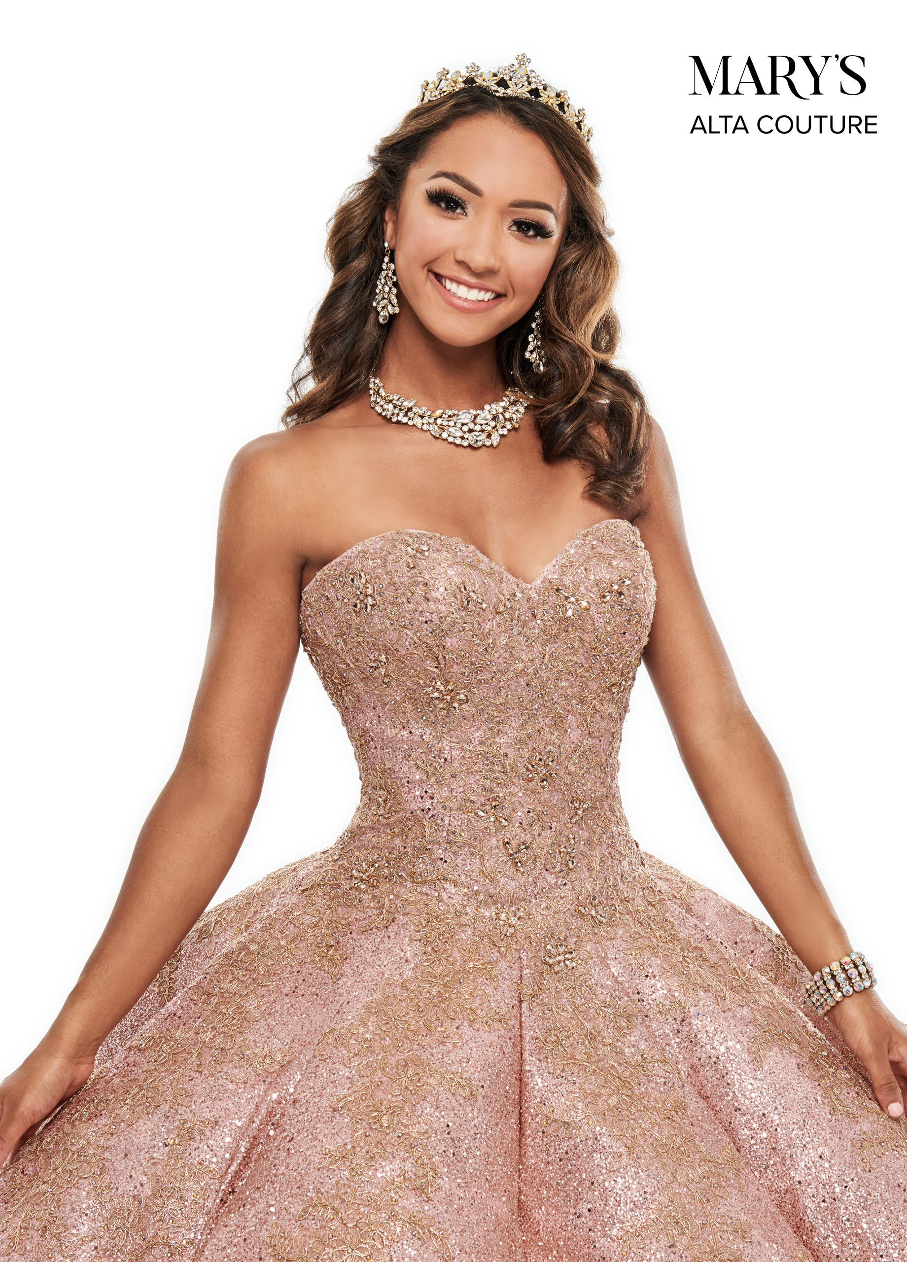 Quinceanera Couture Dresses | Alta Couture | Style - MQ3048