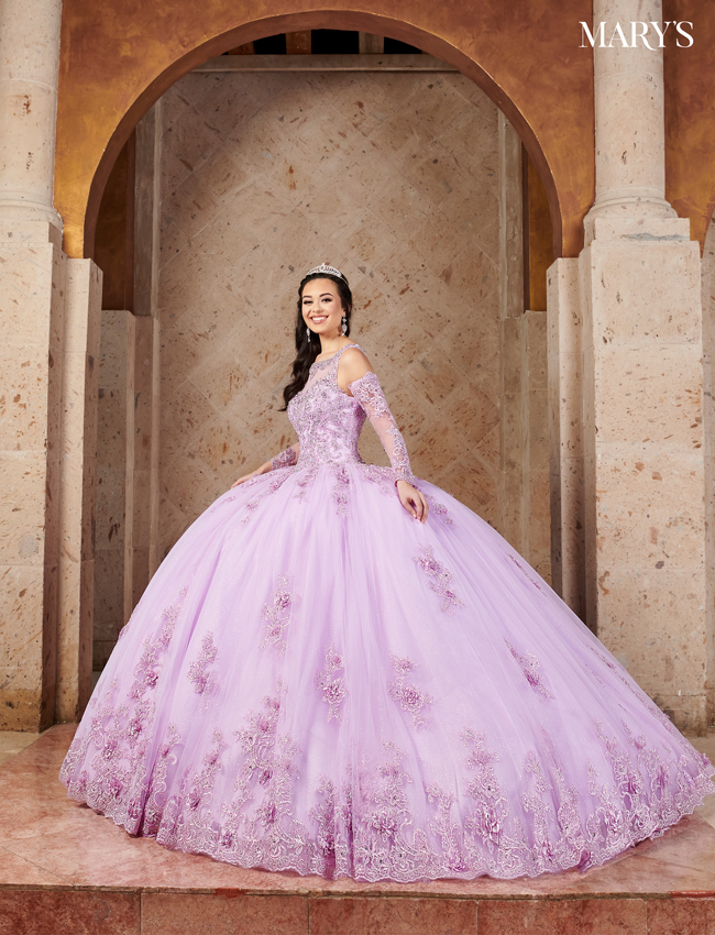 Blush Color Quinceanera Couture Dresses - Style - MQ3054