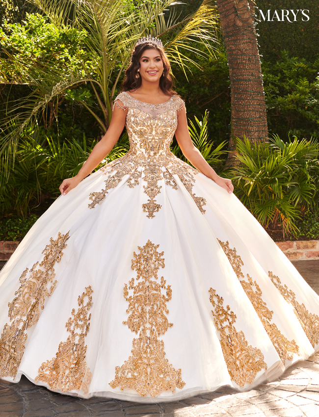 Royal Color Quinceanera Couture Dresses - Style - MQ3055