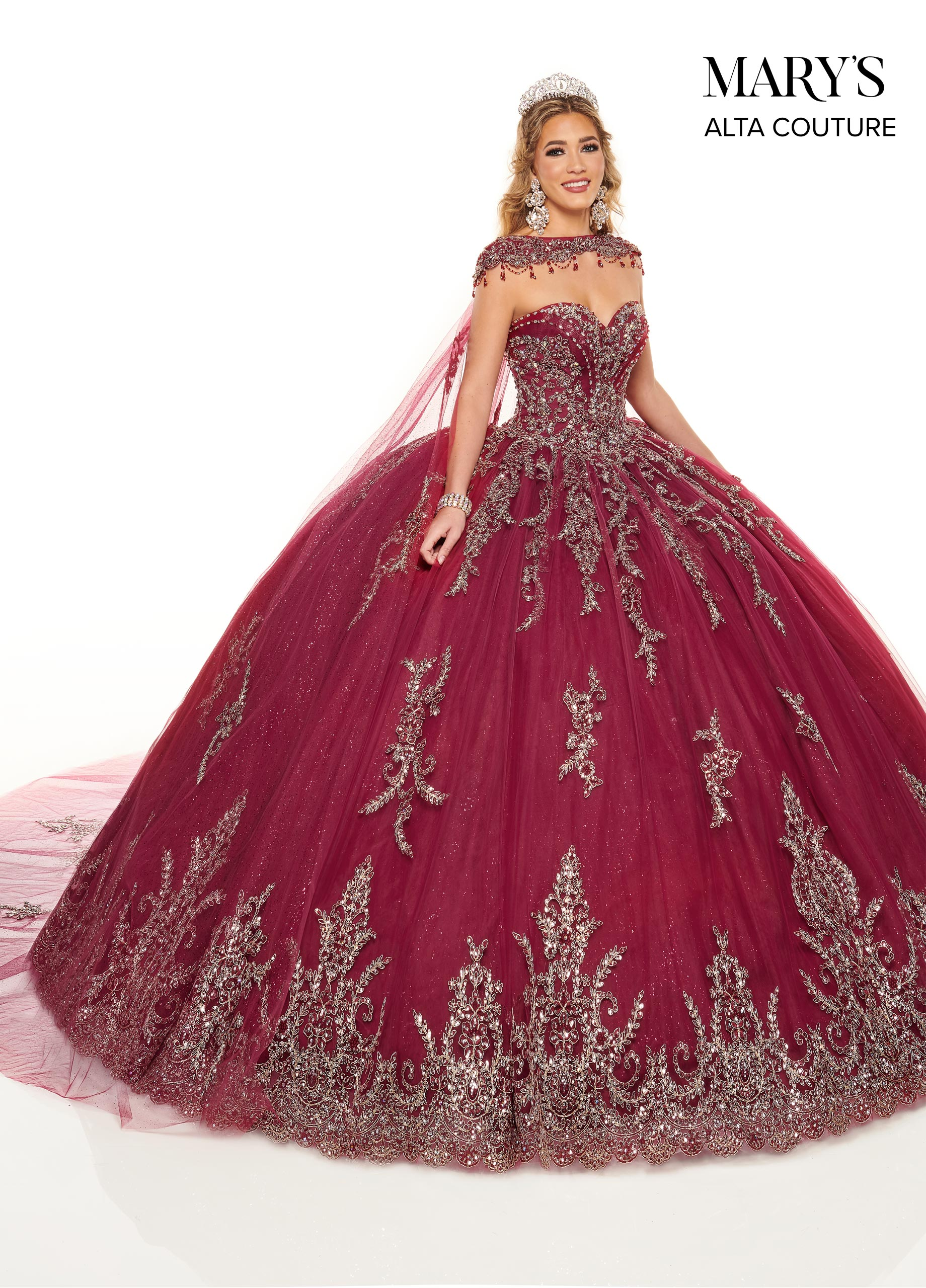 Quinceanera Couture Dresses   Alta Couture   Style - MQ3059