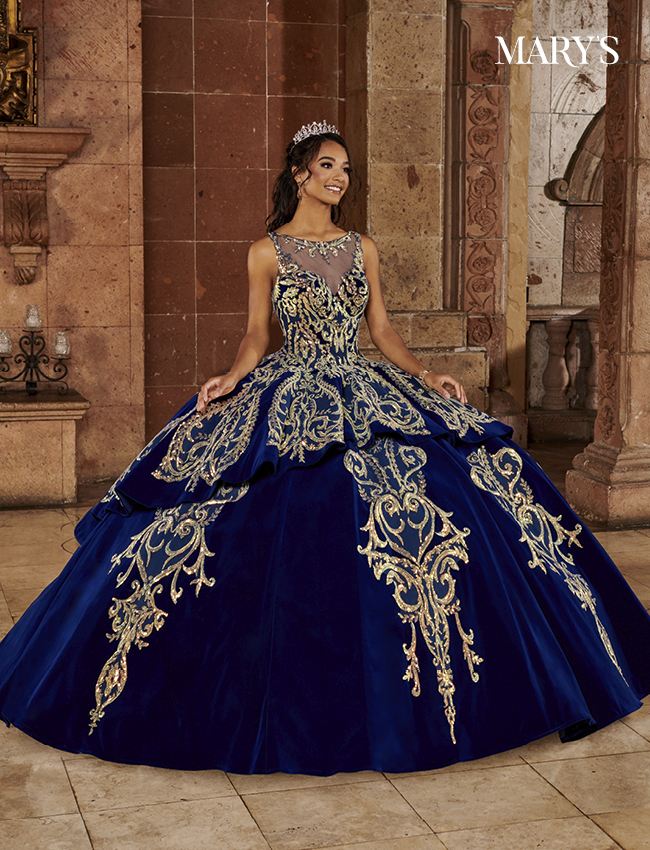 Color Quinceanera Couture Dresses - Style - MQ3067