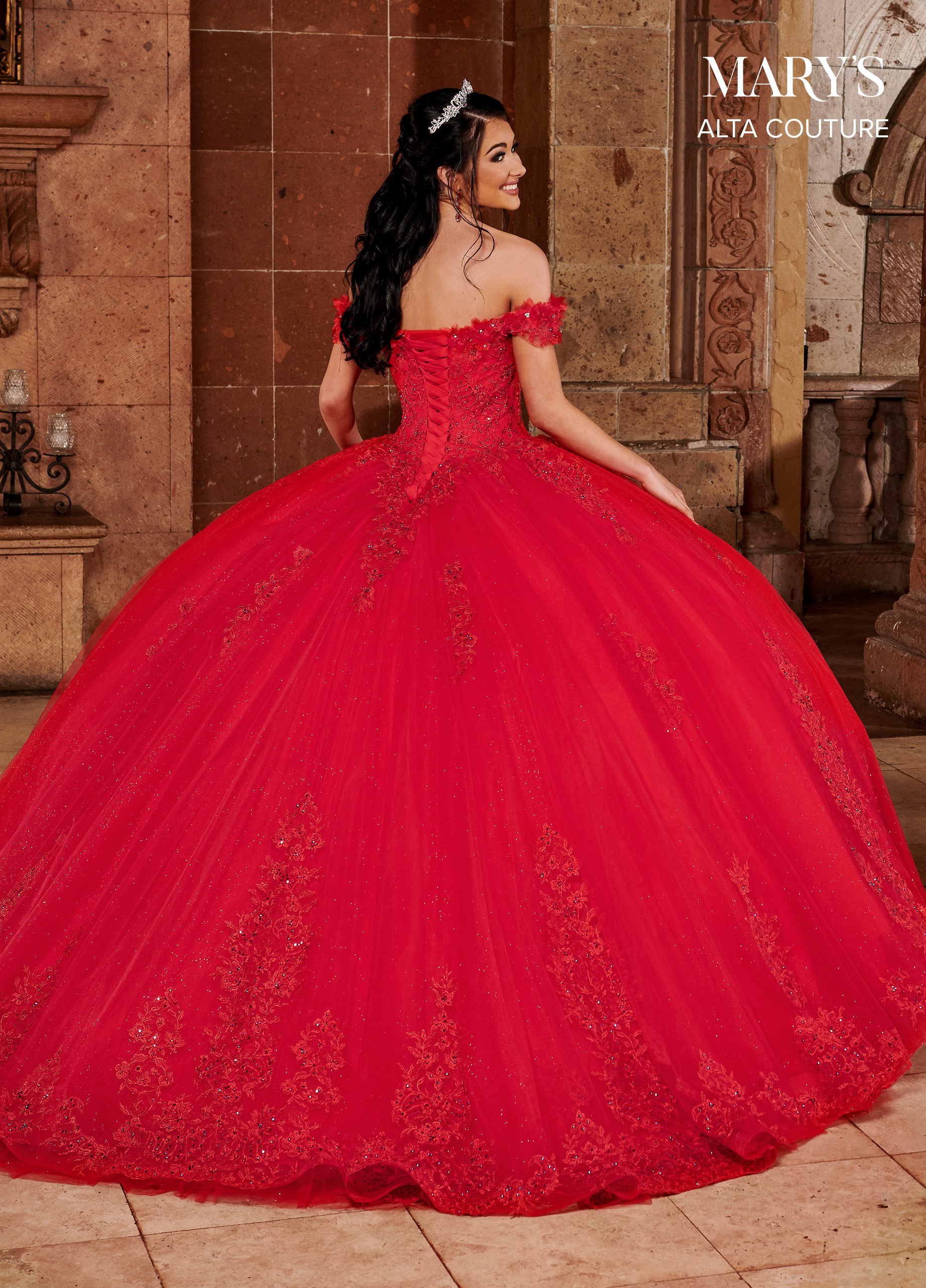 Quinceanera Couture Dresses   Alta Couture   Style - MQ3068