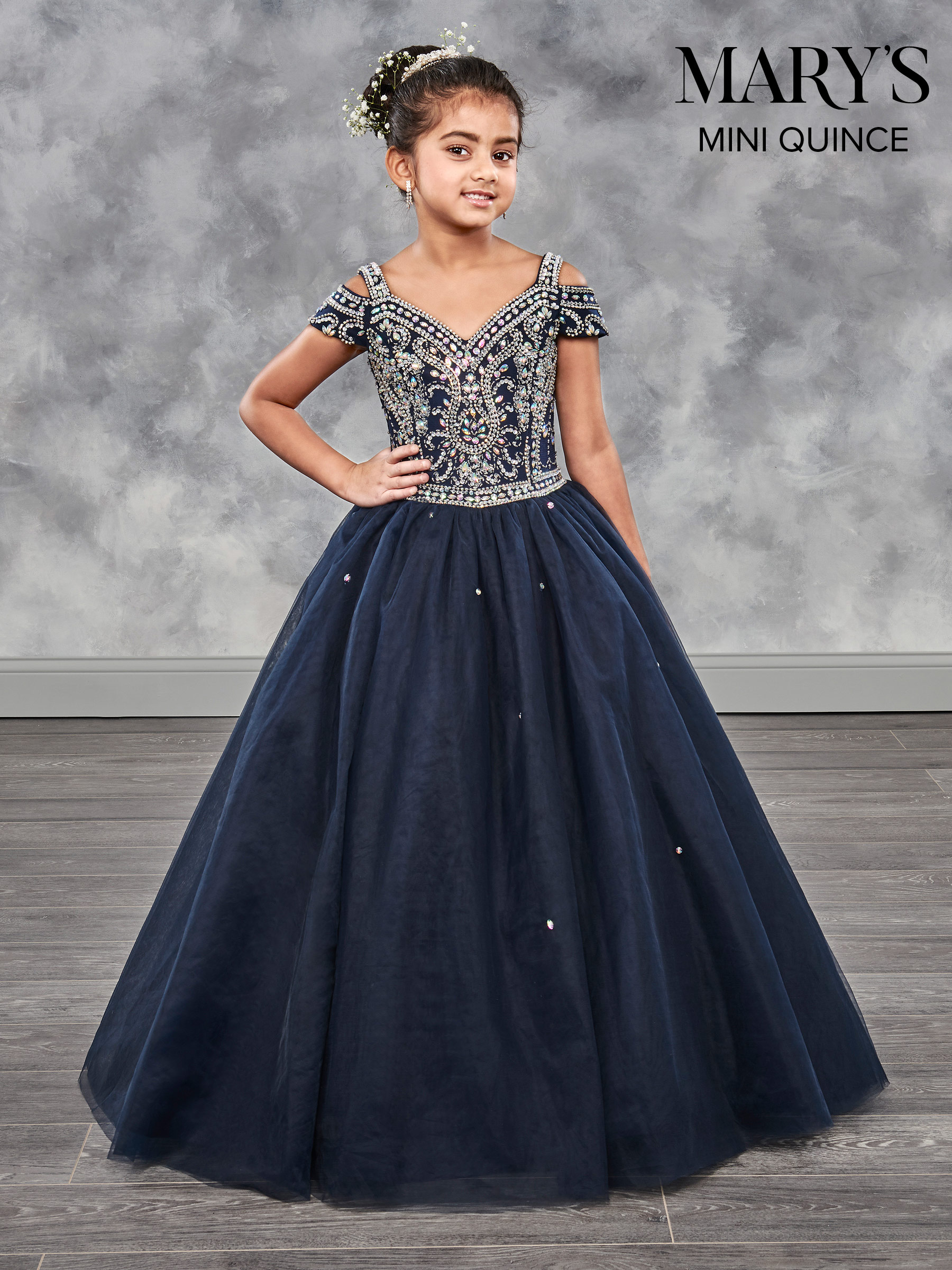 Little Quince Dresses | Mini Quince | Style - MQ4002