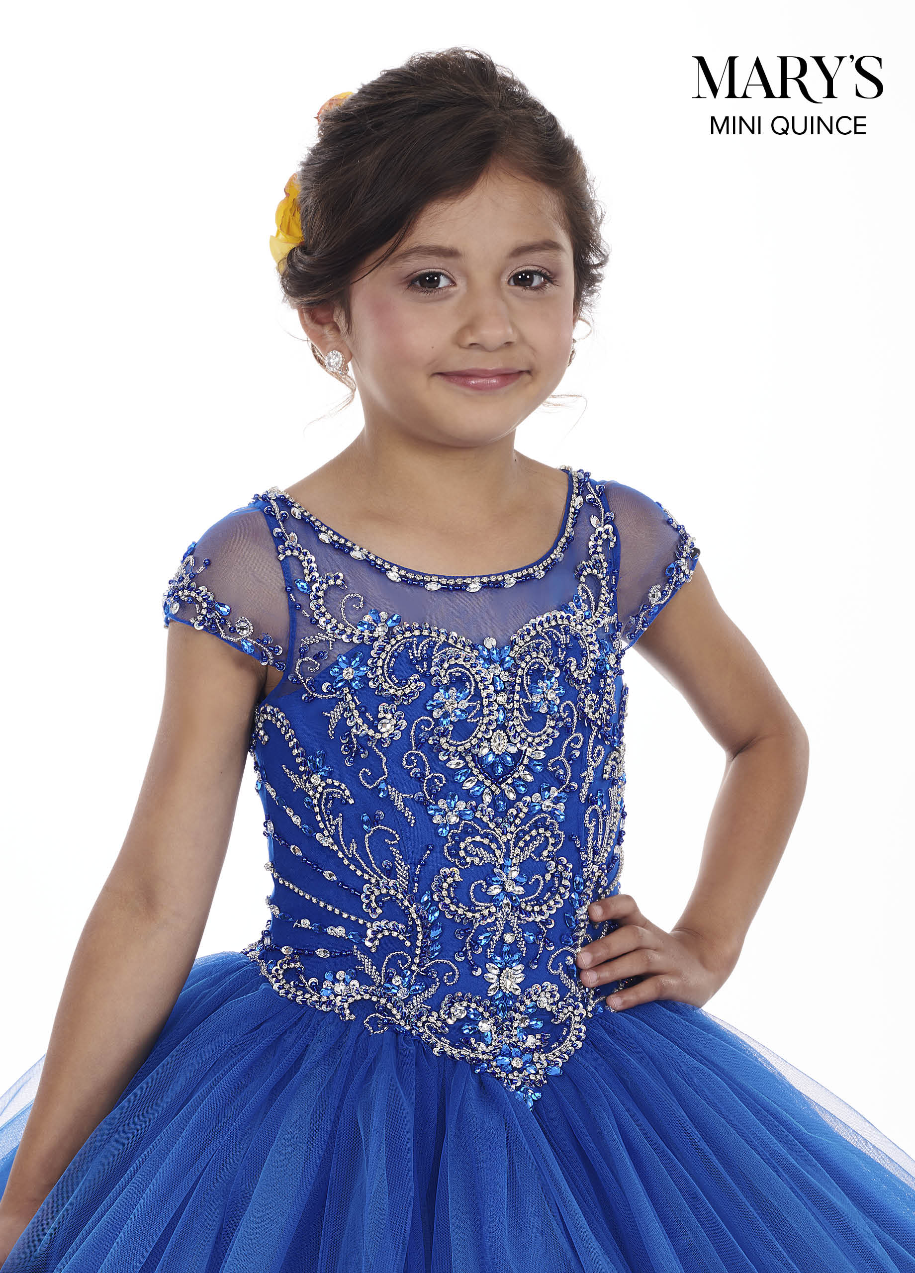 Little Quince Dresses | Mini Quince | Style - MQ4007