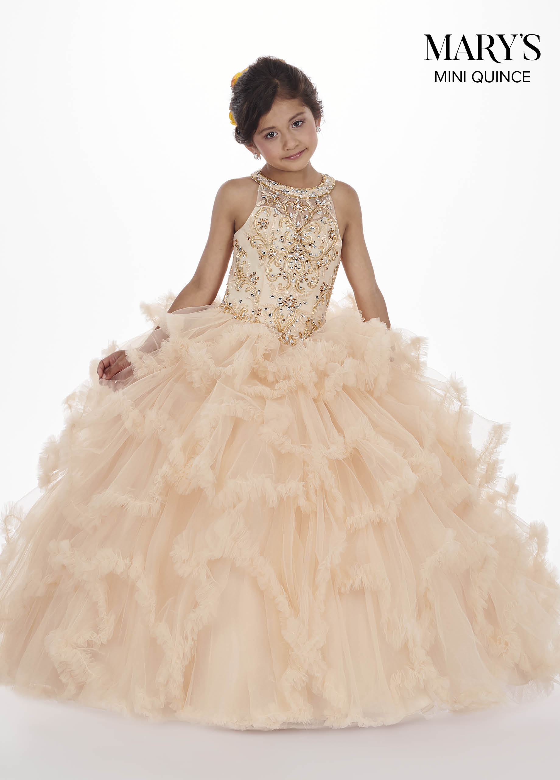 Little Quince Dresses | Mini Quince | Style - MQ4008