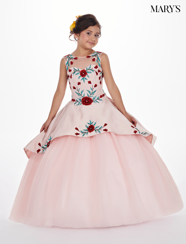 Blush Color Little Quince Dresses - Style - MQ4009