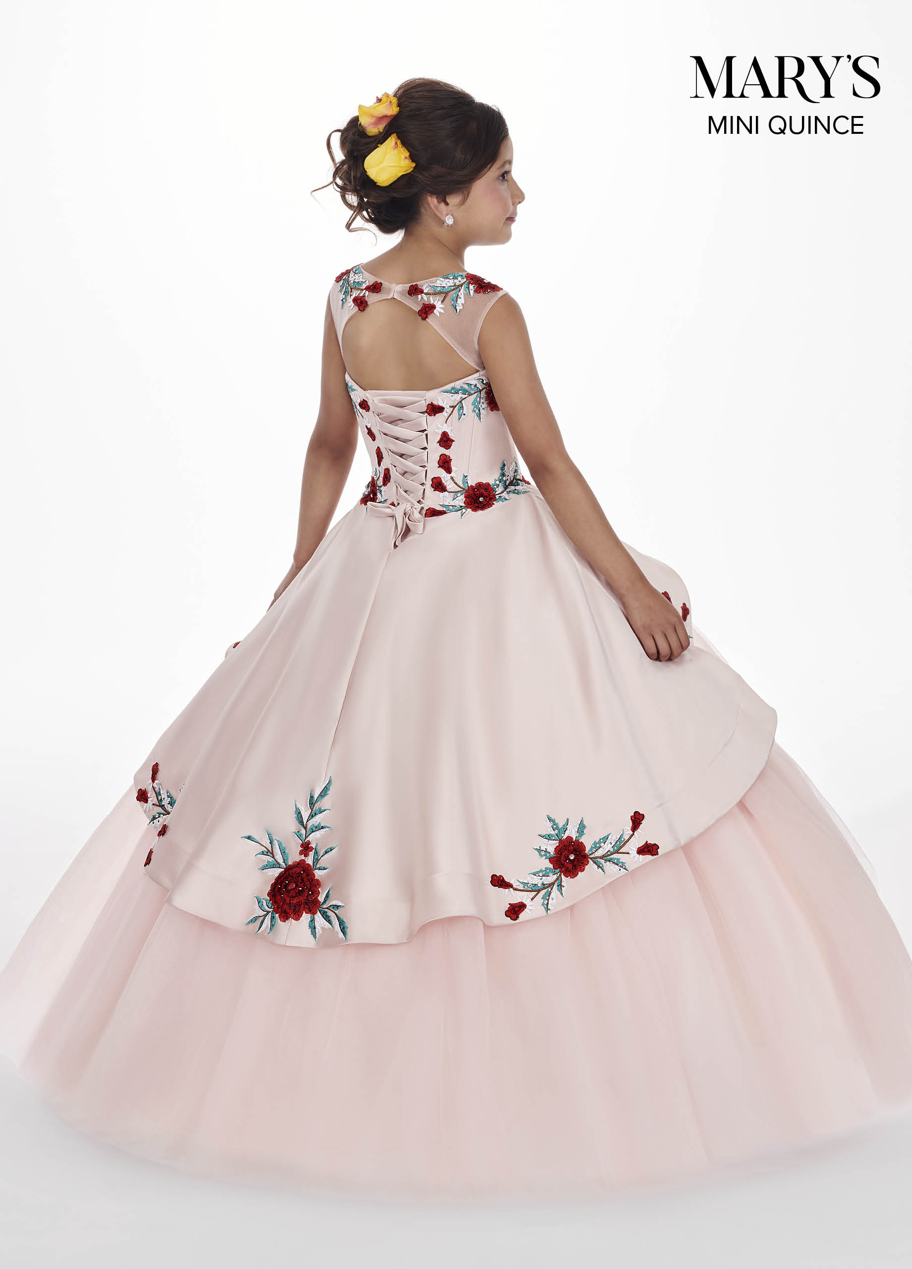 Little Quince Dresses | Mini Quince | Style - MQ4009