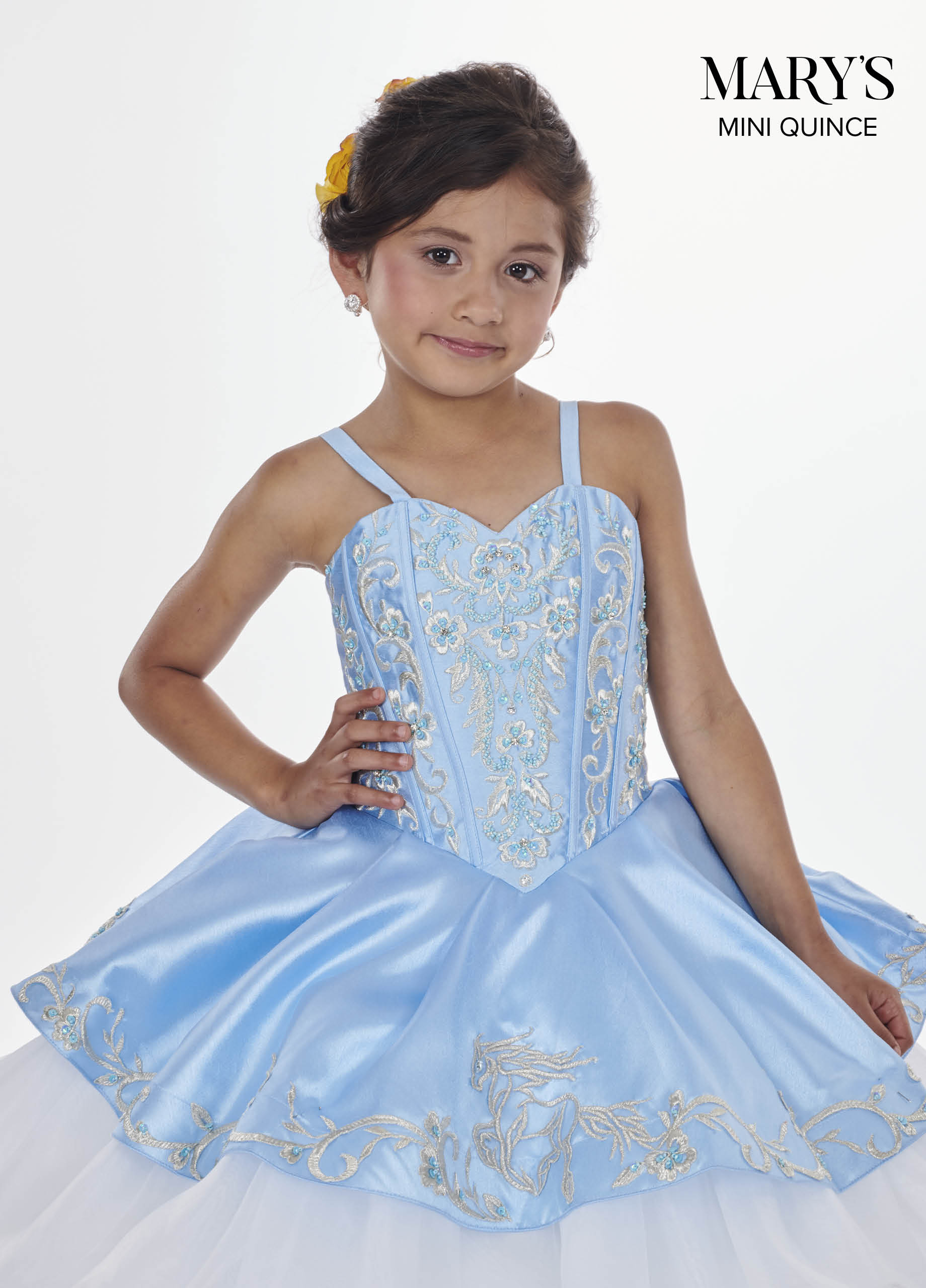 Little Quince Dresses | Mini Quince | Style - MQ4010