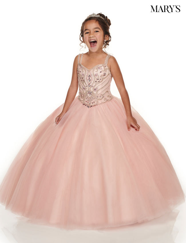 Blush Color Little Quince Dresses - Style - MQ4011