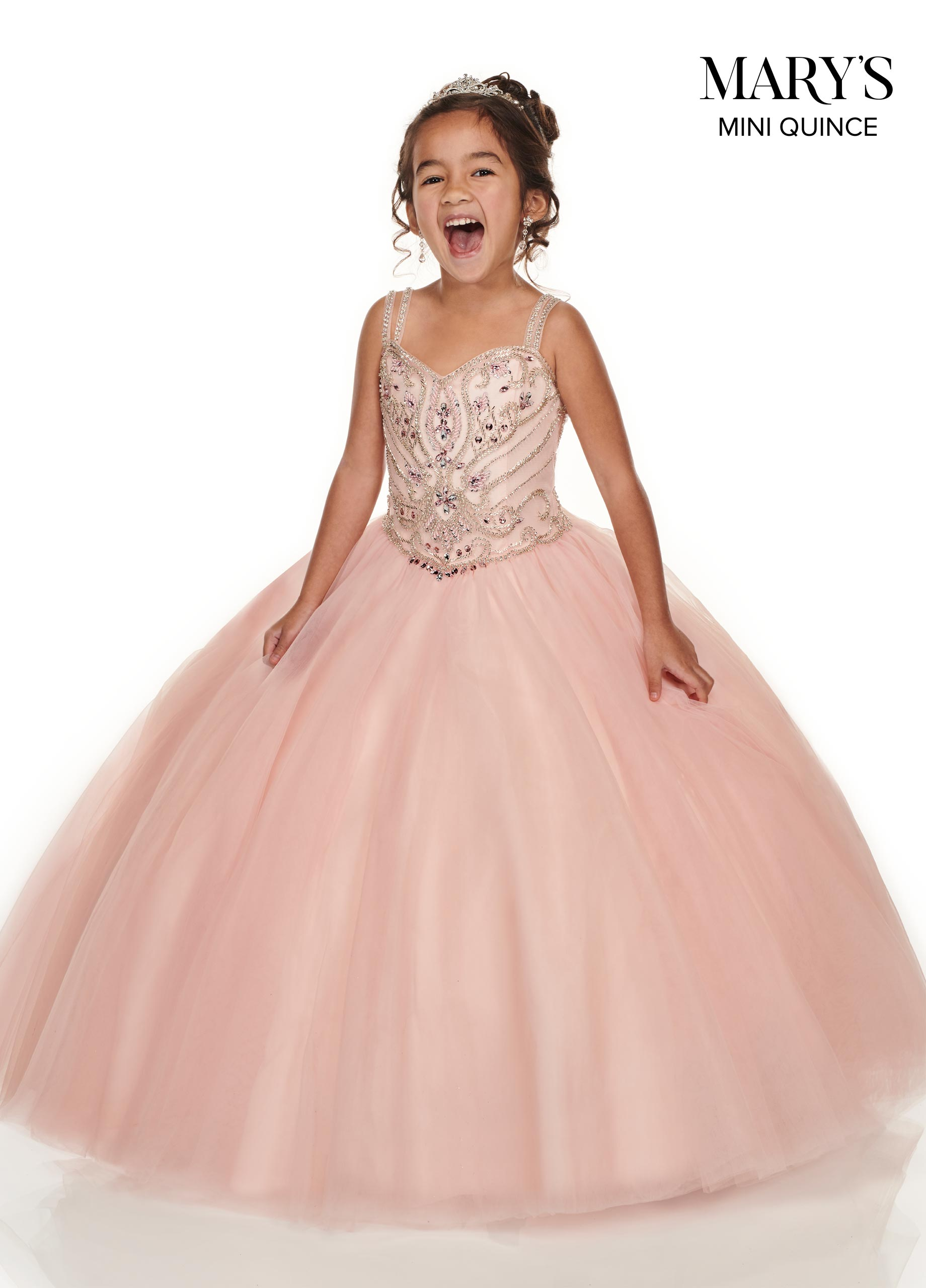 Little Quince Dresses | Mini Quince | Style - MQ4011