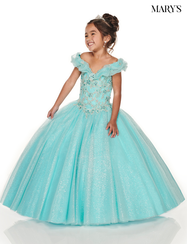 Deep Blush Color Little Quince Dresses - Style - MQ4012