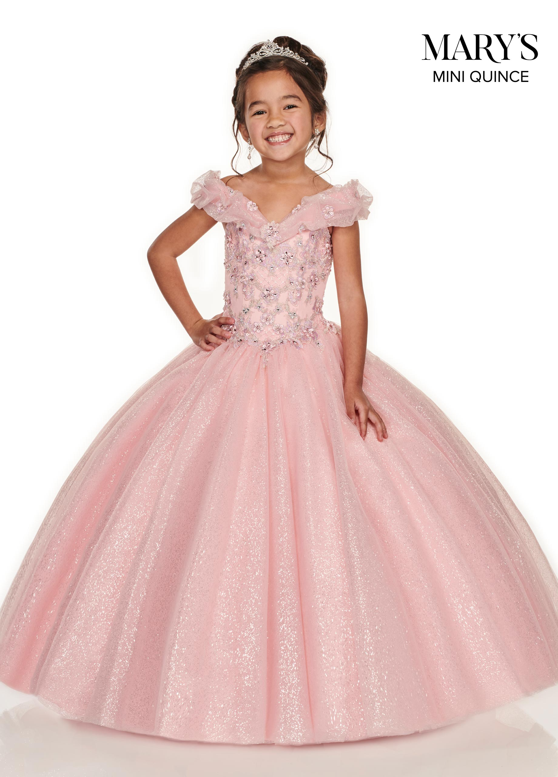 Little Quince Dresses | Mini Quince | Style - MQ4012