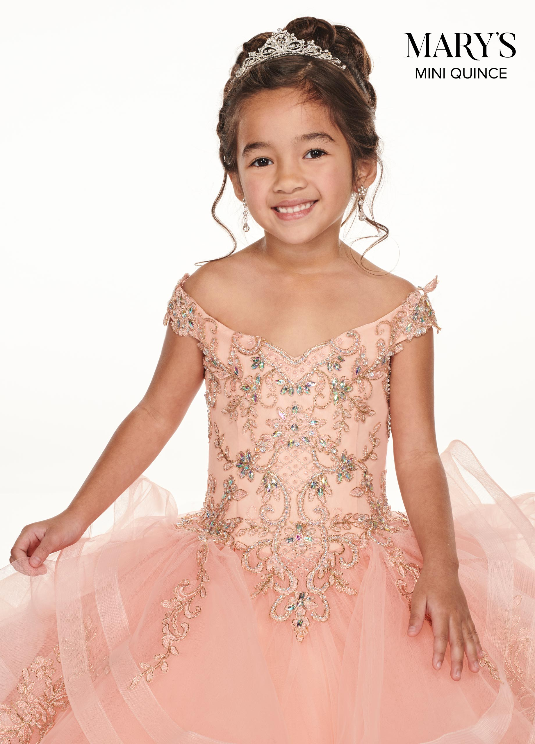 Little Quince Dresses | Mini Quince | Style - MQ4013