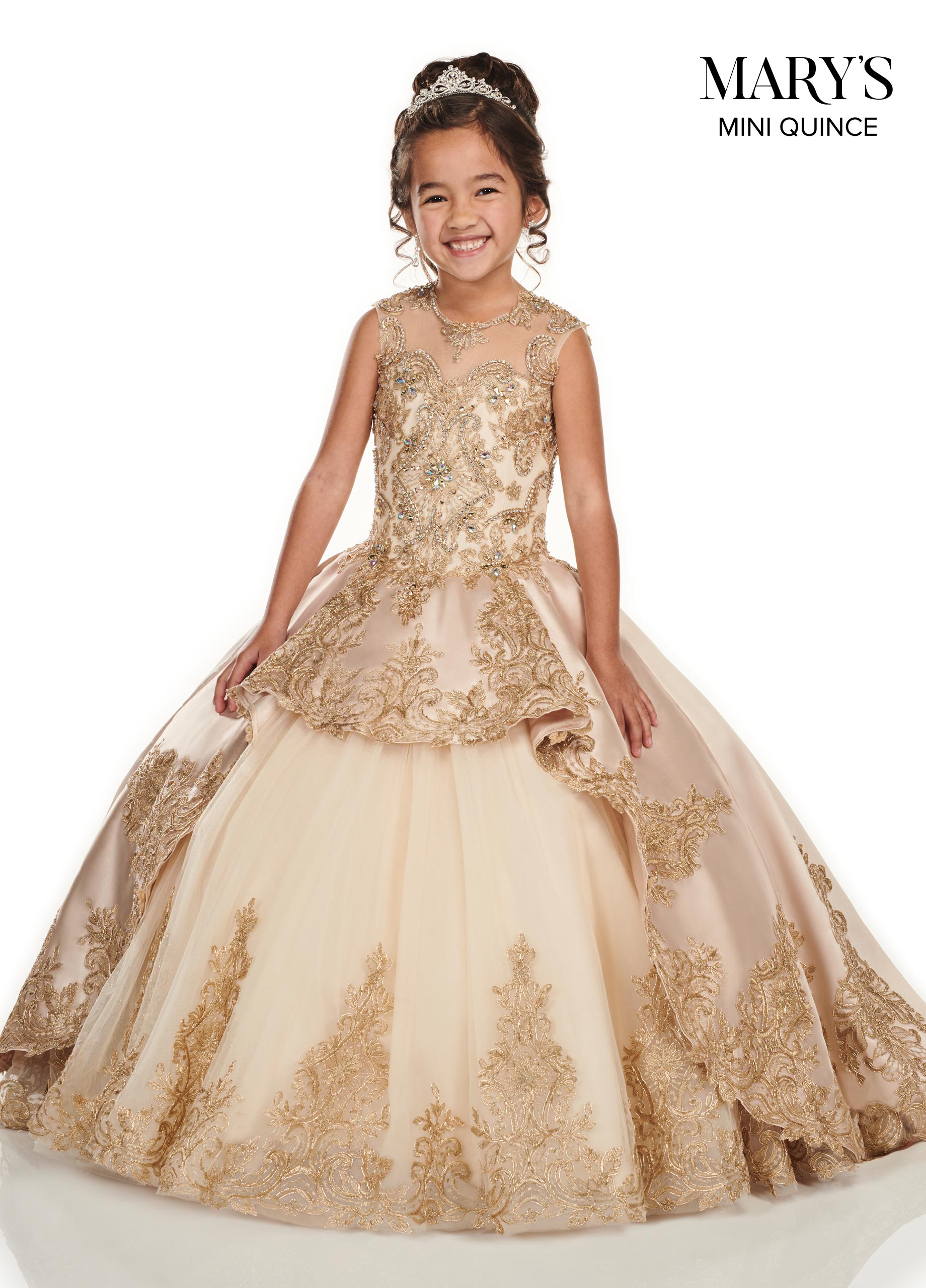Little Quince Dresses | Mini Quince | Style - MQ4014