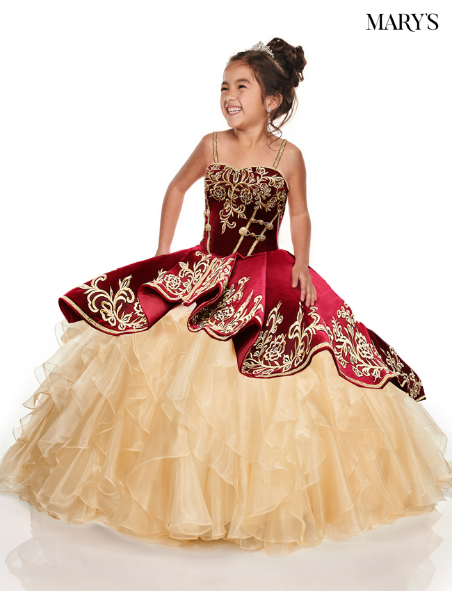 Burgundy Color Little Quince Dresses - Style - MQ4015
