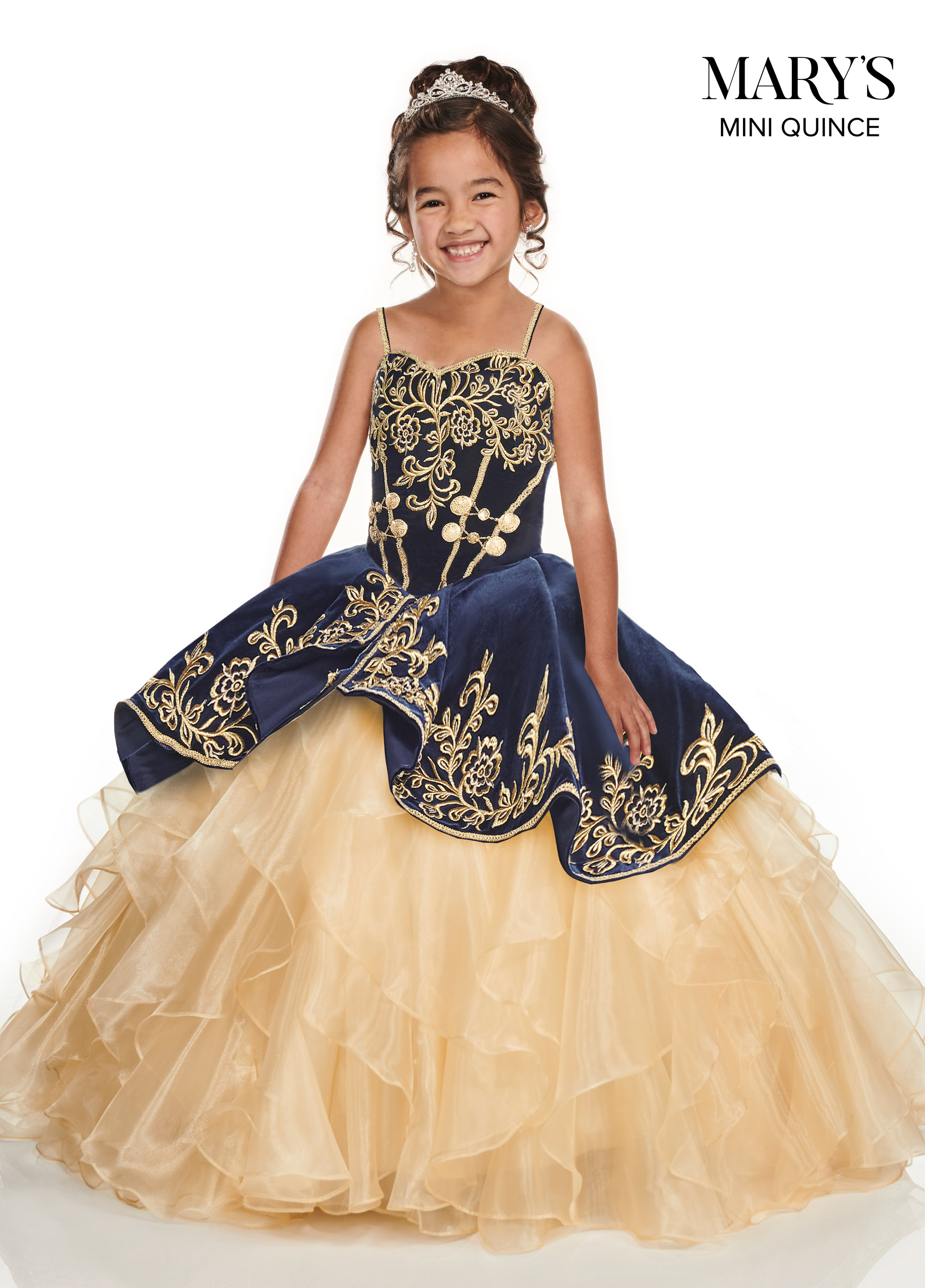 Little Quince Dresses | Mini Quince | Style - MQ4015
