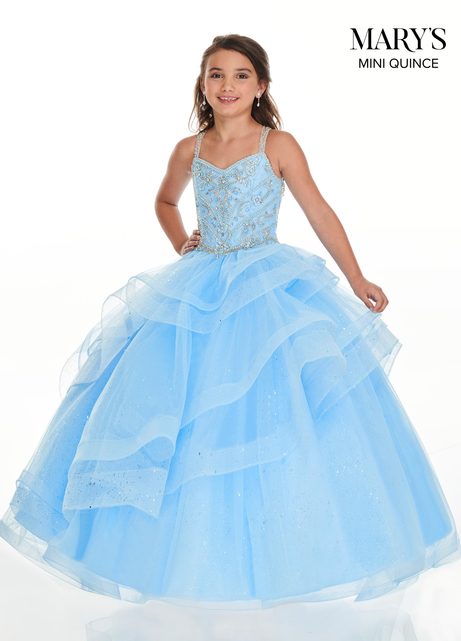 Little Quince Dresses | Mini Quince | Style - MQ4016