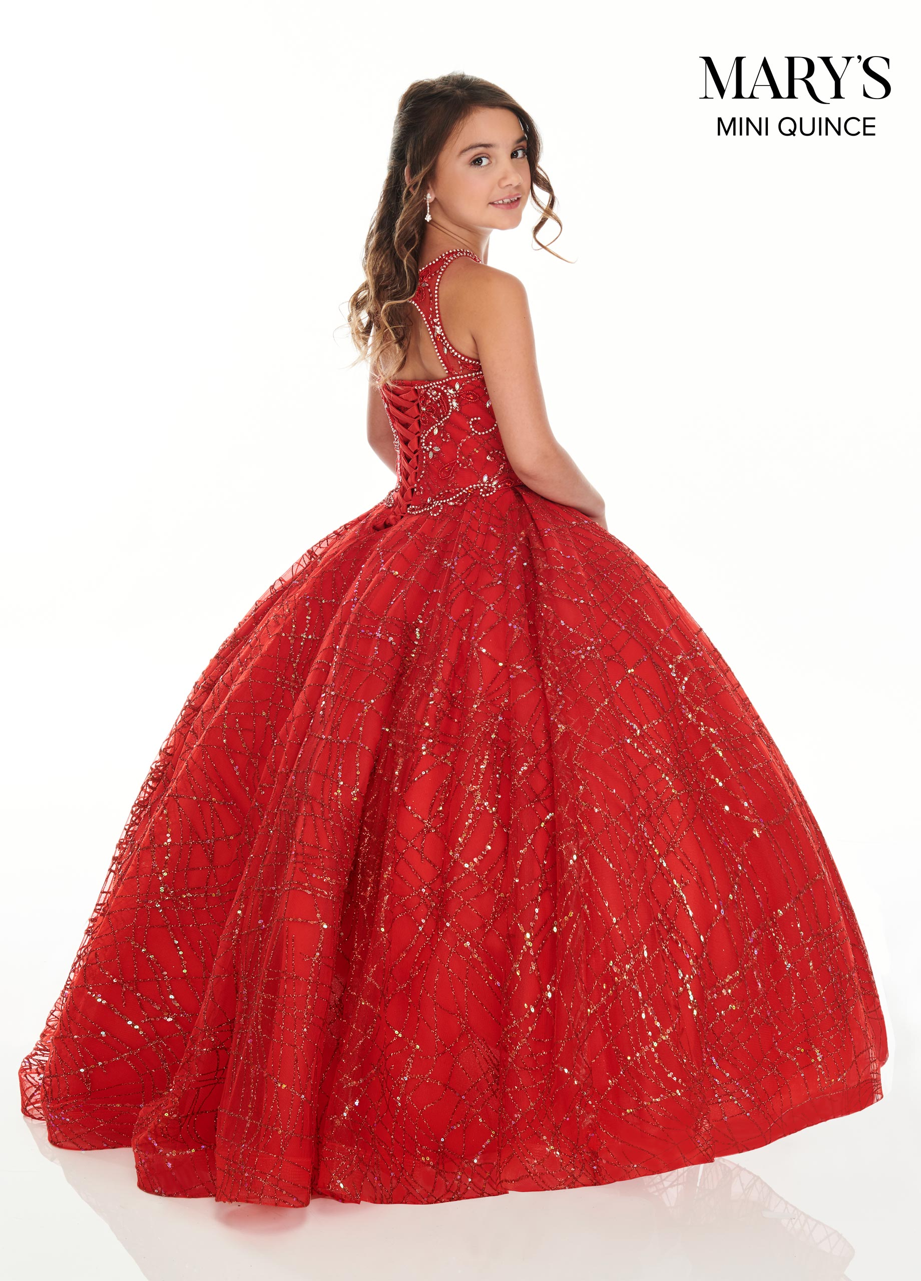 Little Quince Dresses | Mini Quince | Style - MQ4017