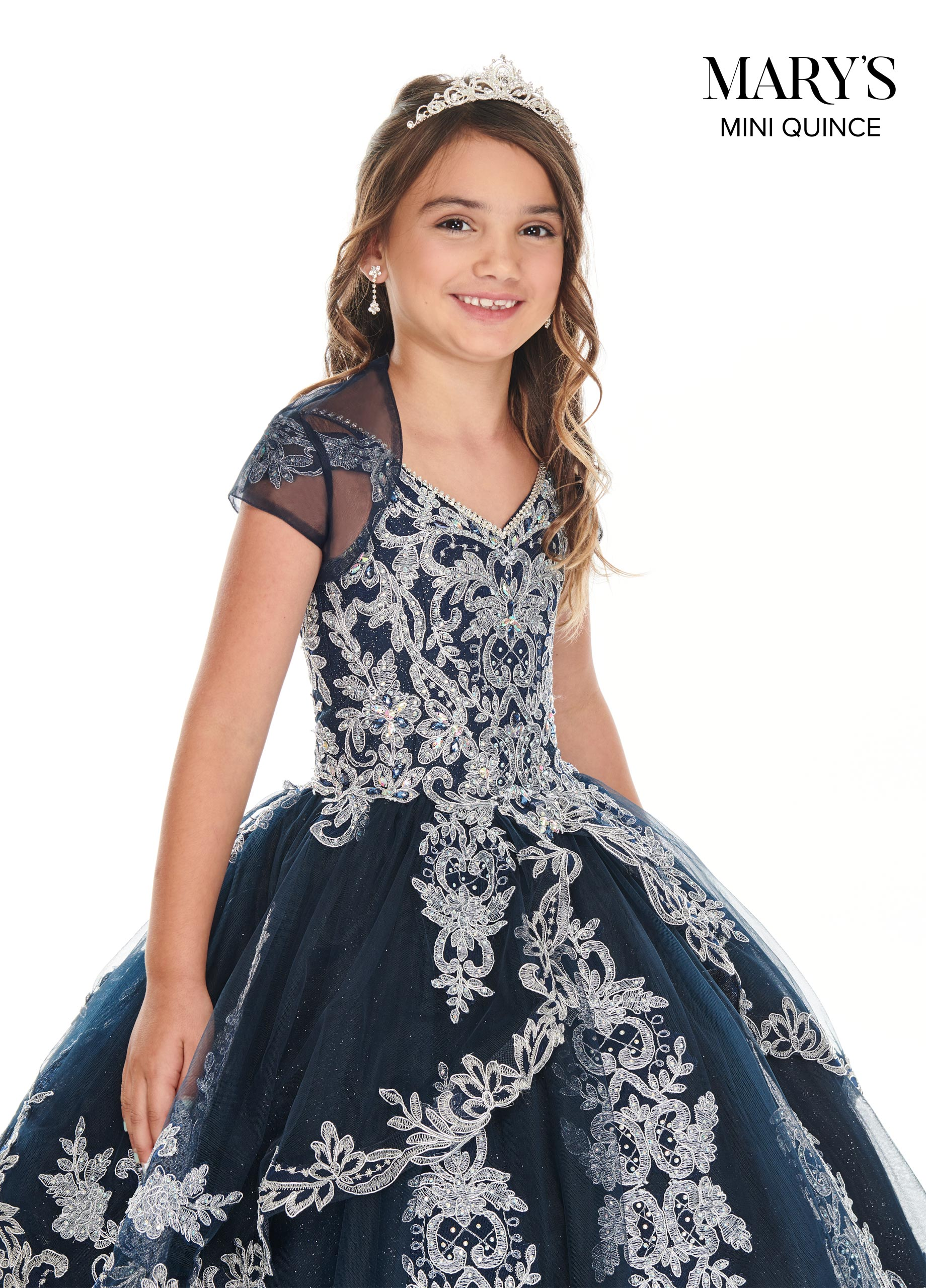 Little Quince Dresses | Mini Quince | Style - MQ4018