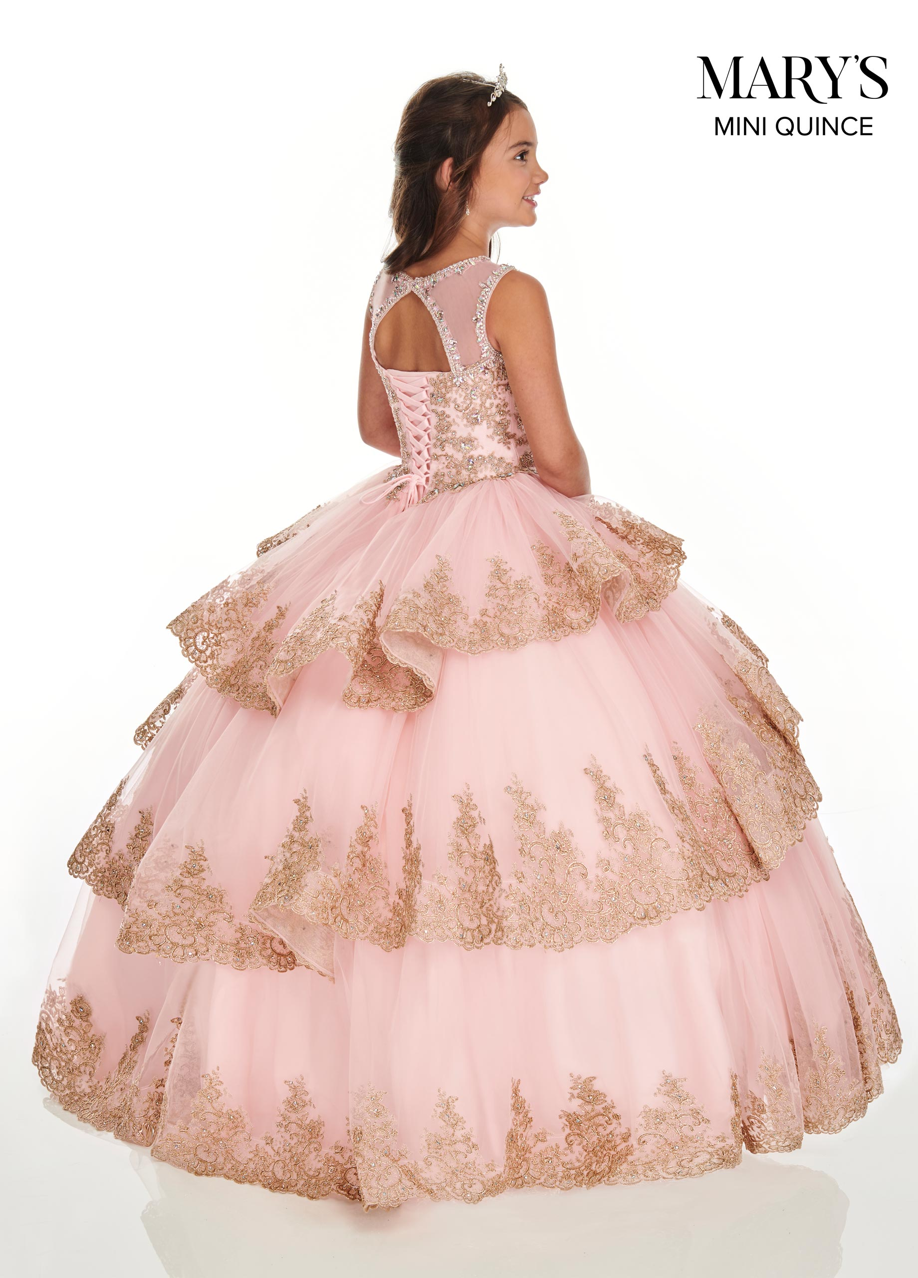 Little Quince Dresses | Mini Quince | Style - MQ4019