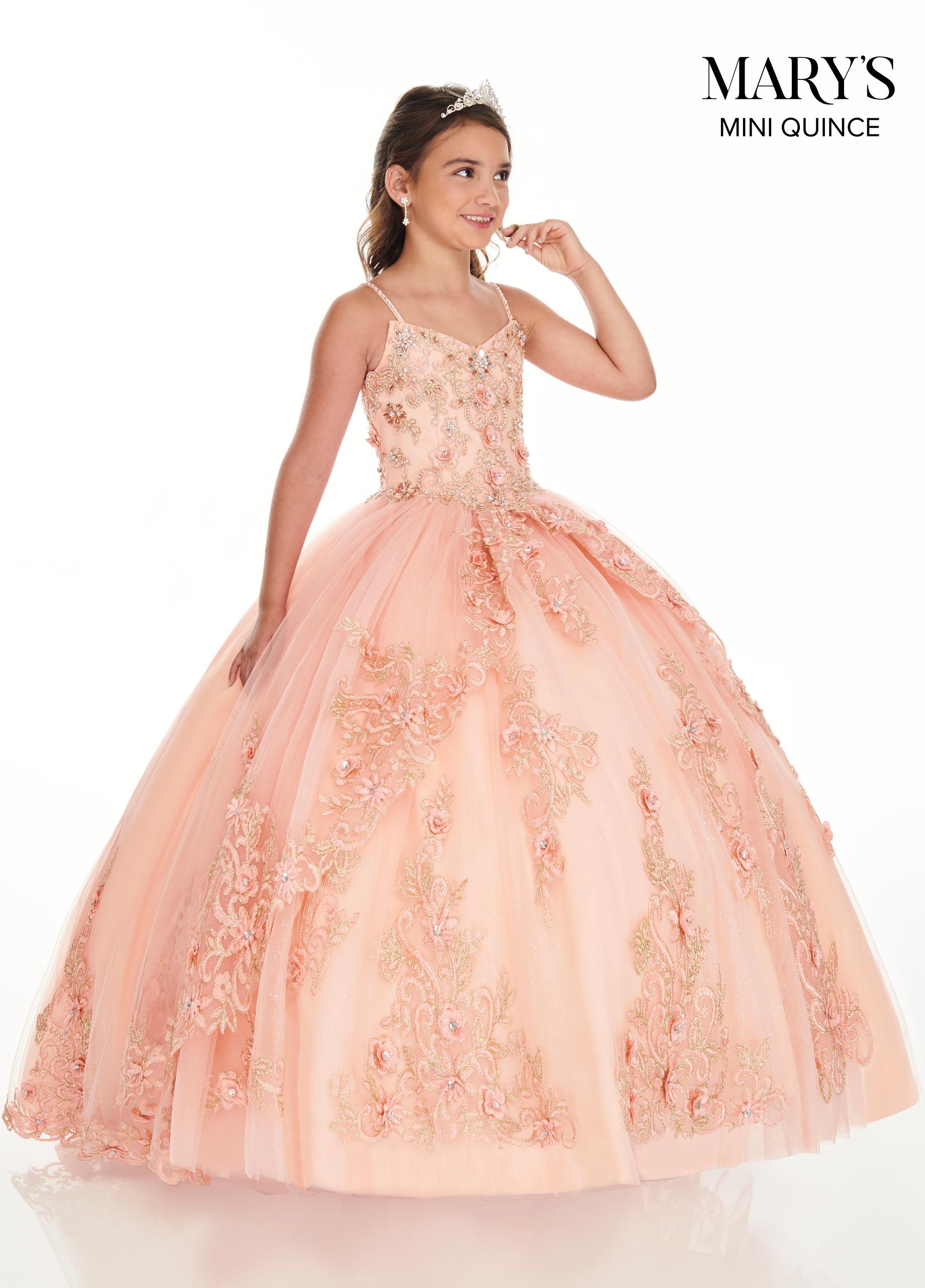 Little Quince Dresses | Mini Quince | Style - MQ4020