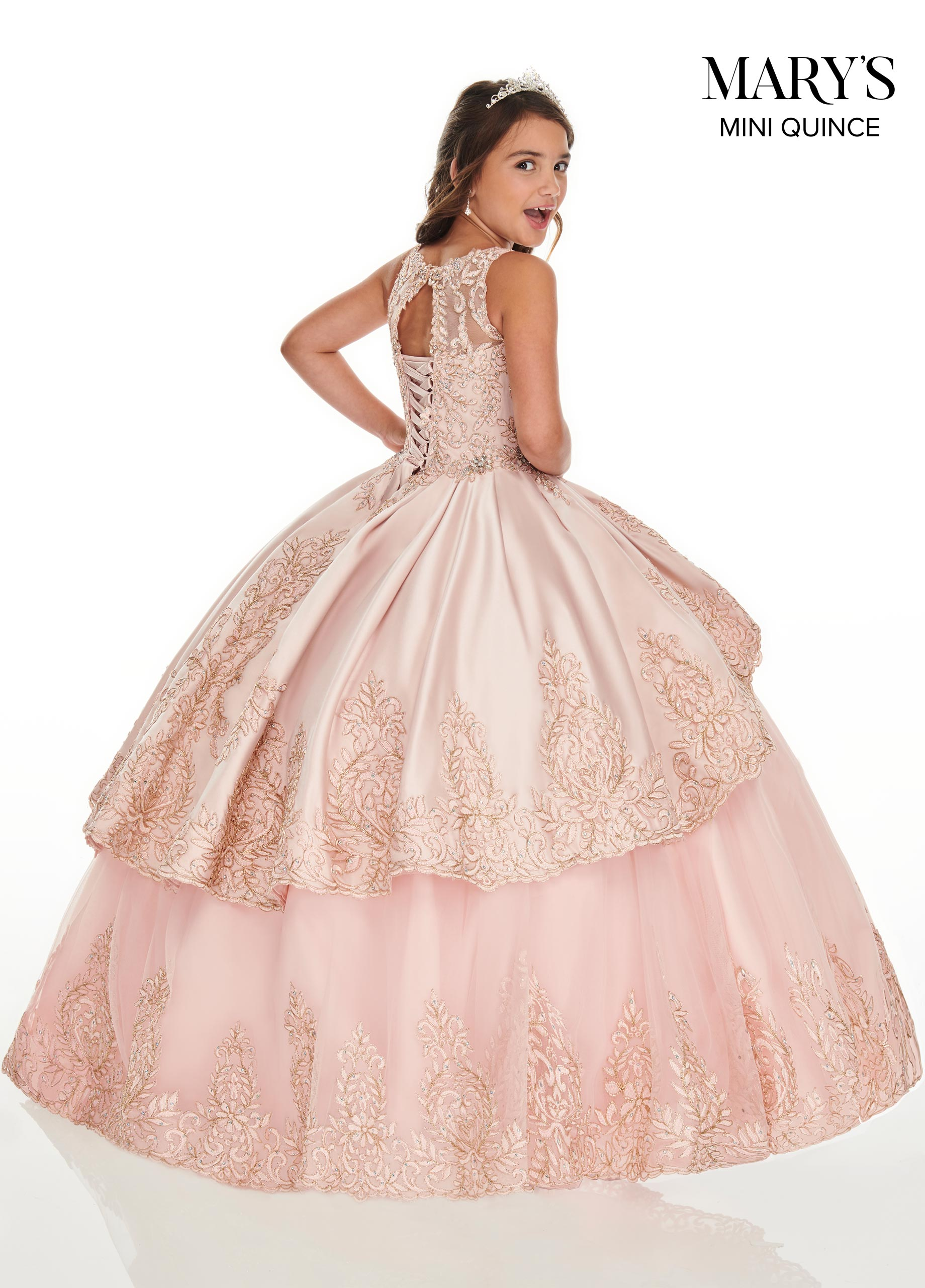 Little Quince Dresses | Mini Quince | Style - MQ4021