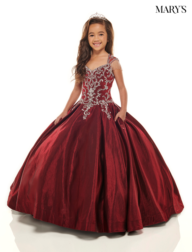 Burgundy Color Little Quince Dresses - Style - MQ4022