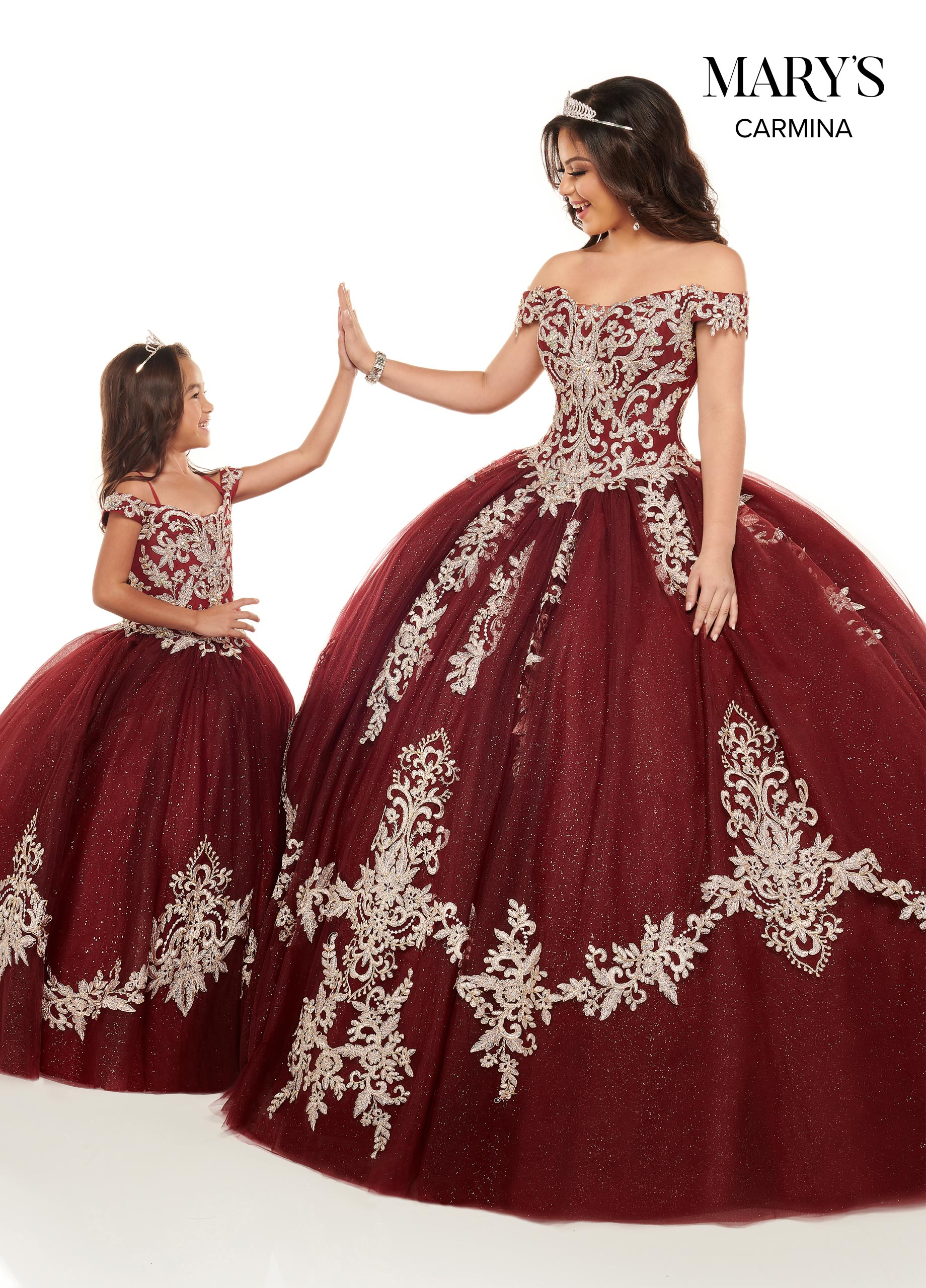 Little Quince Dresses | Mini Quince | Style - MQ4023
