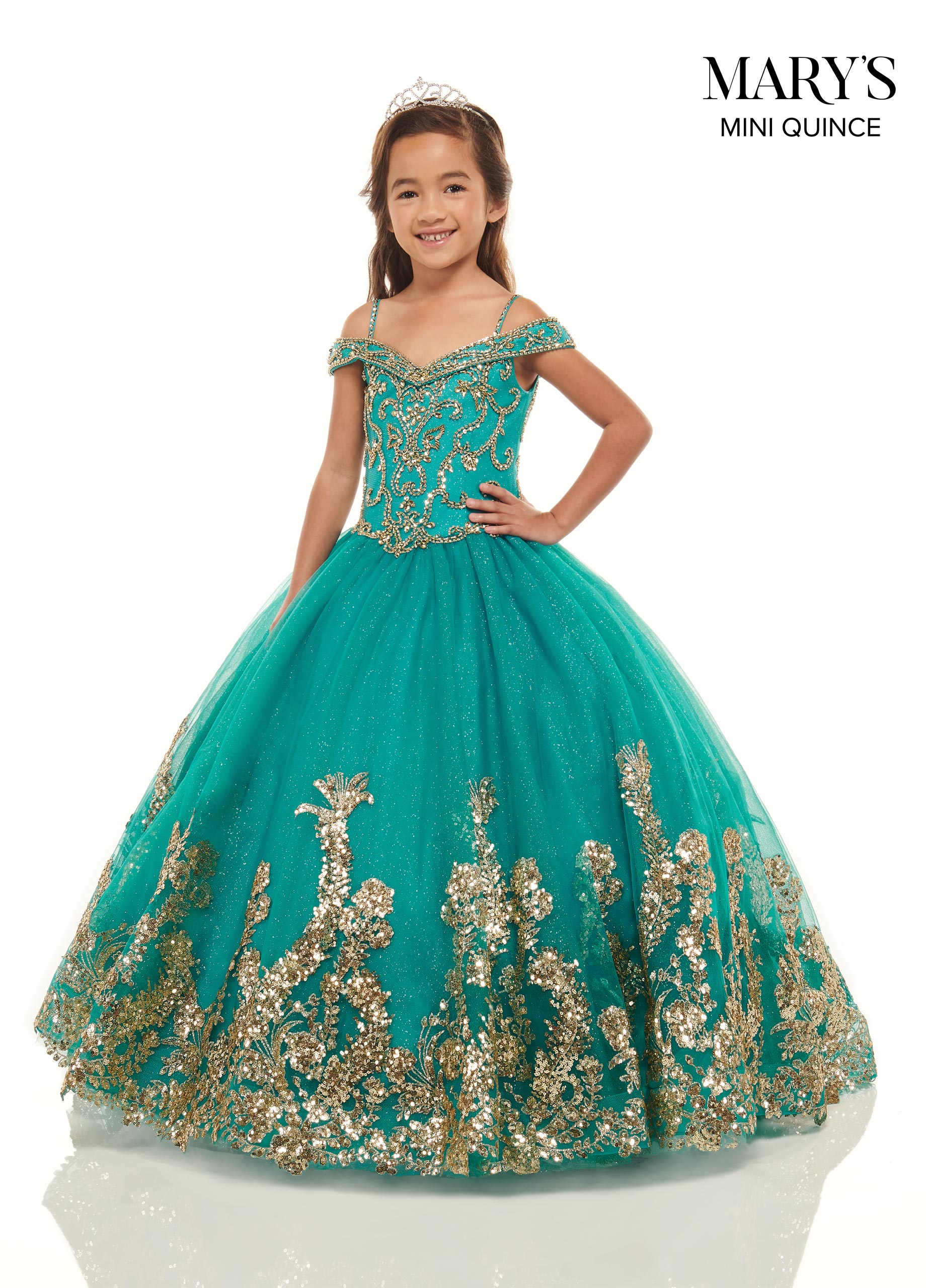 Little Quince Dresses | Mini Quince | Style - MQ4024