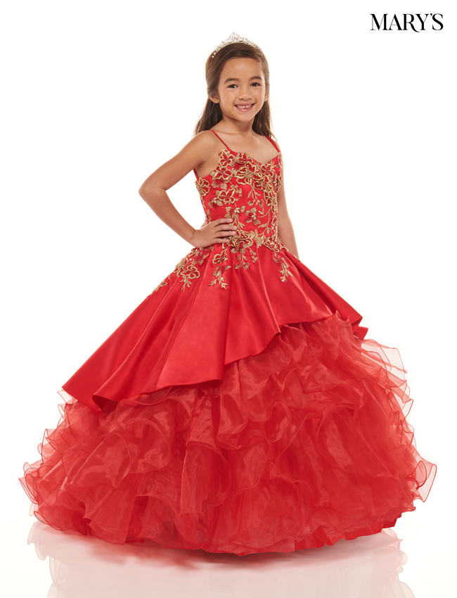 Red Color Little Quince Dresses - Style - MQ4026