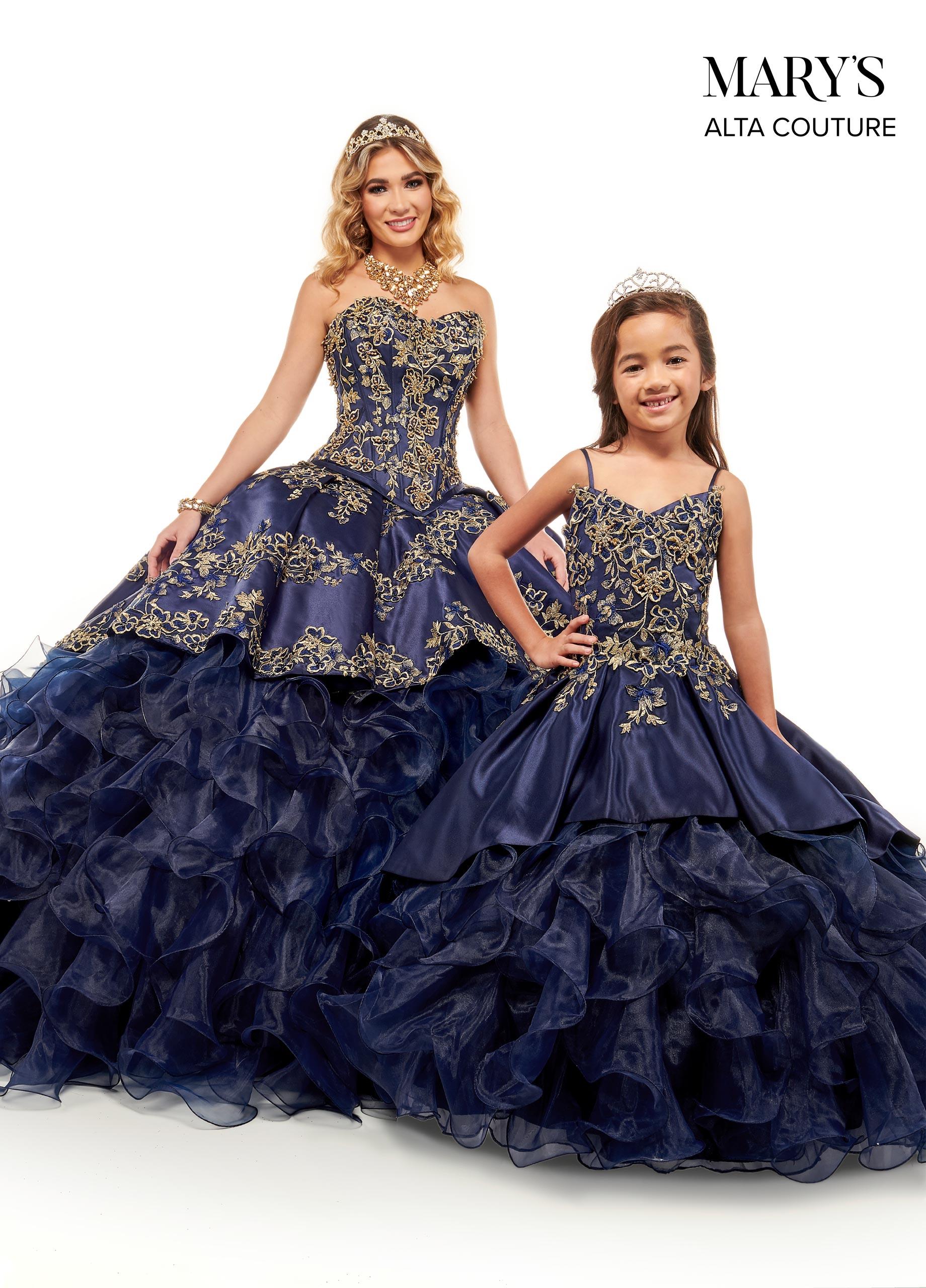 Little Quince Dresses | Mini Quince | Style - MQ4026