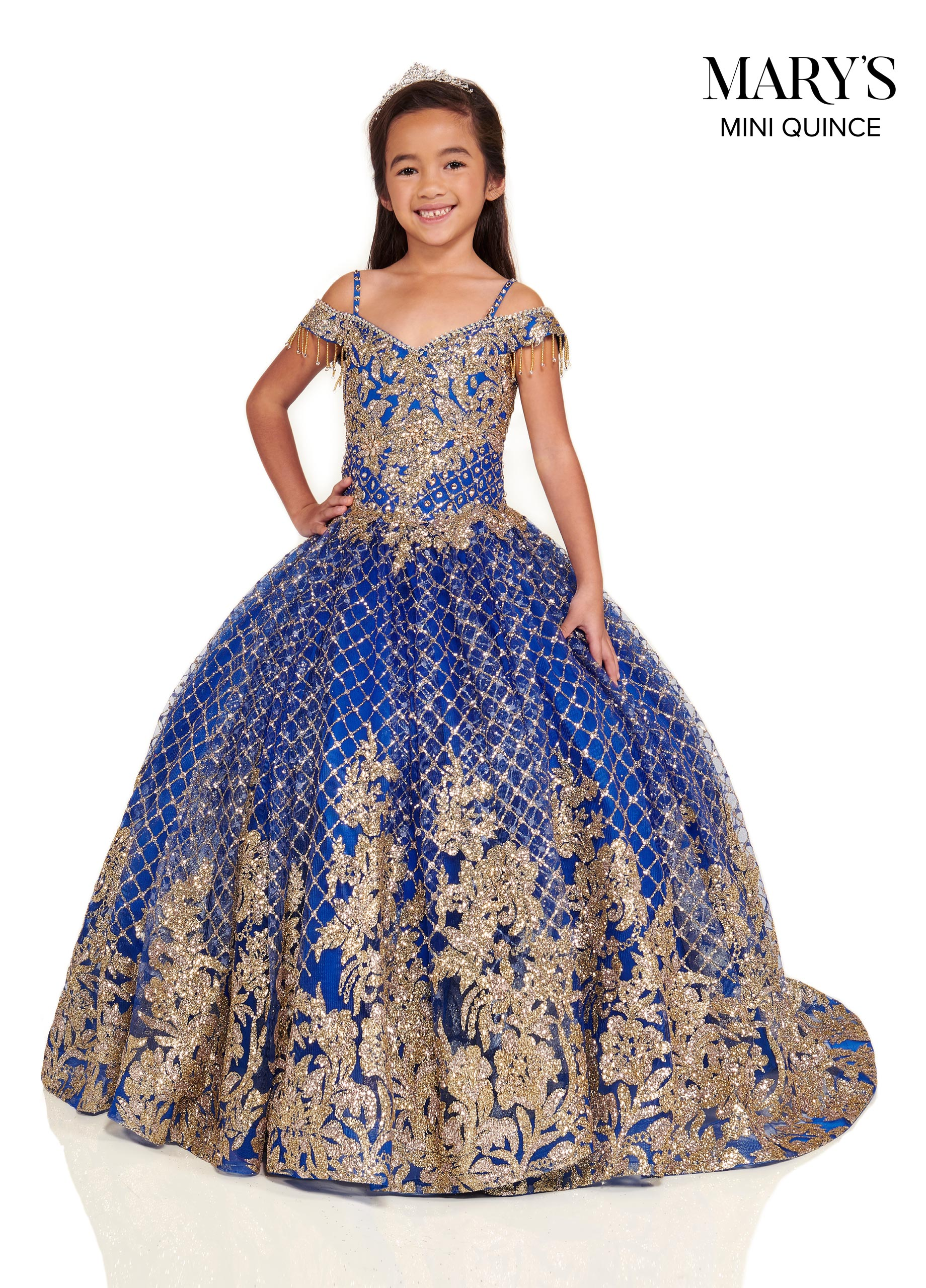 Little Quince Dresses | Mini Quince | Style - MQ4027