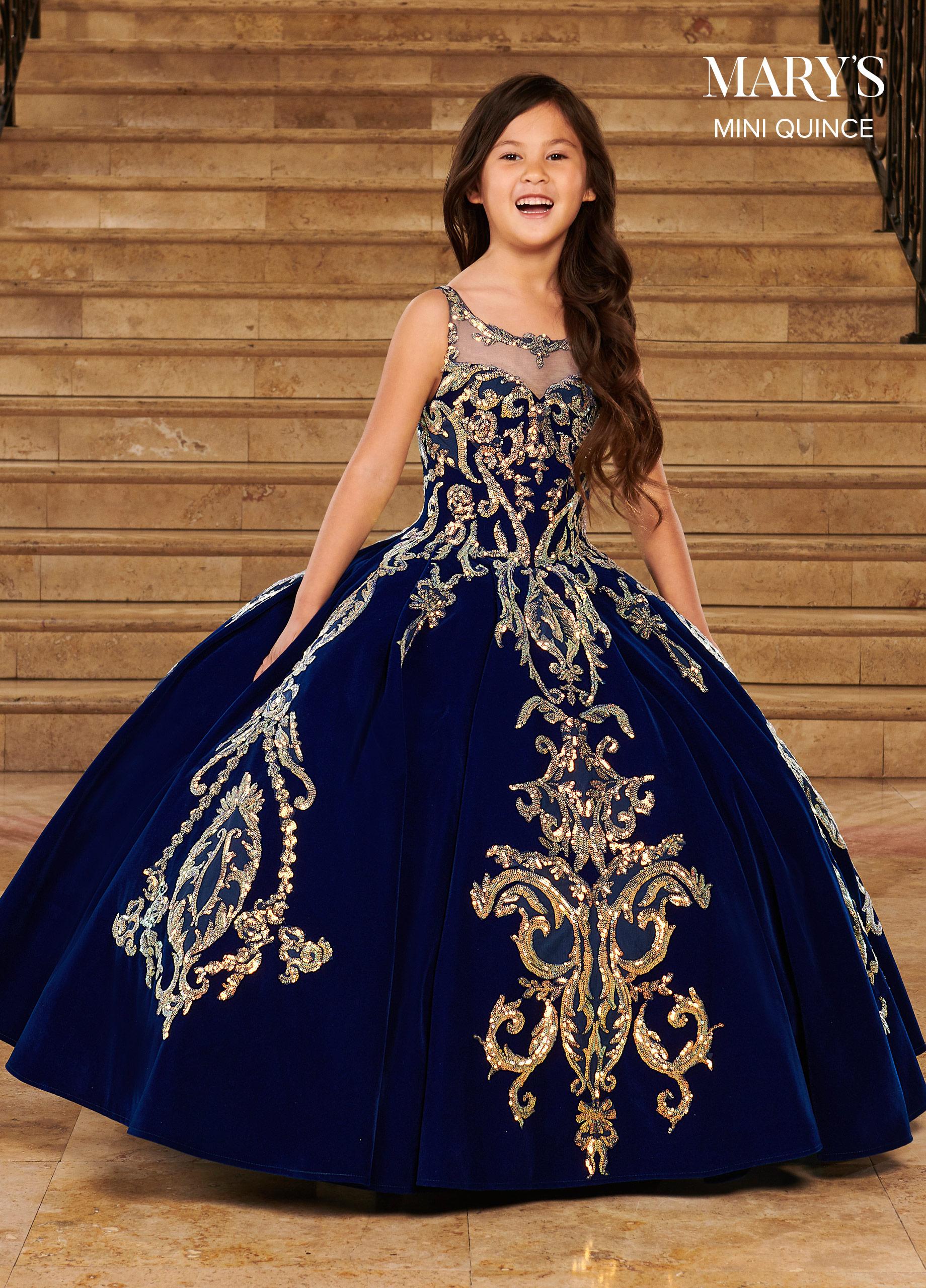 Little Quince Dresses | Mini Quince | Style - MQ4028