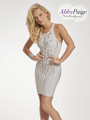 Silver Color Malia Rose Prom Dresses - Style - P3913